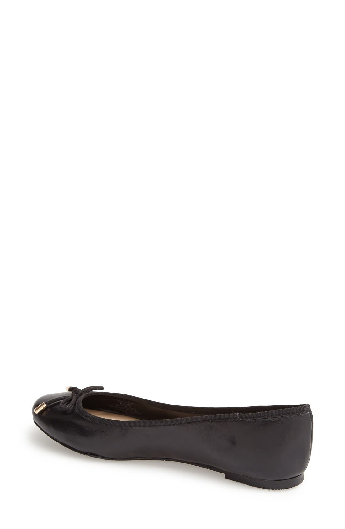 Alternate Image 2  - Sole Society 'Natalie' Leather Ballet Flat (Women)