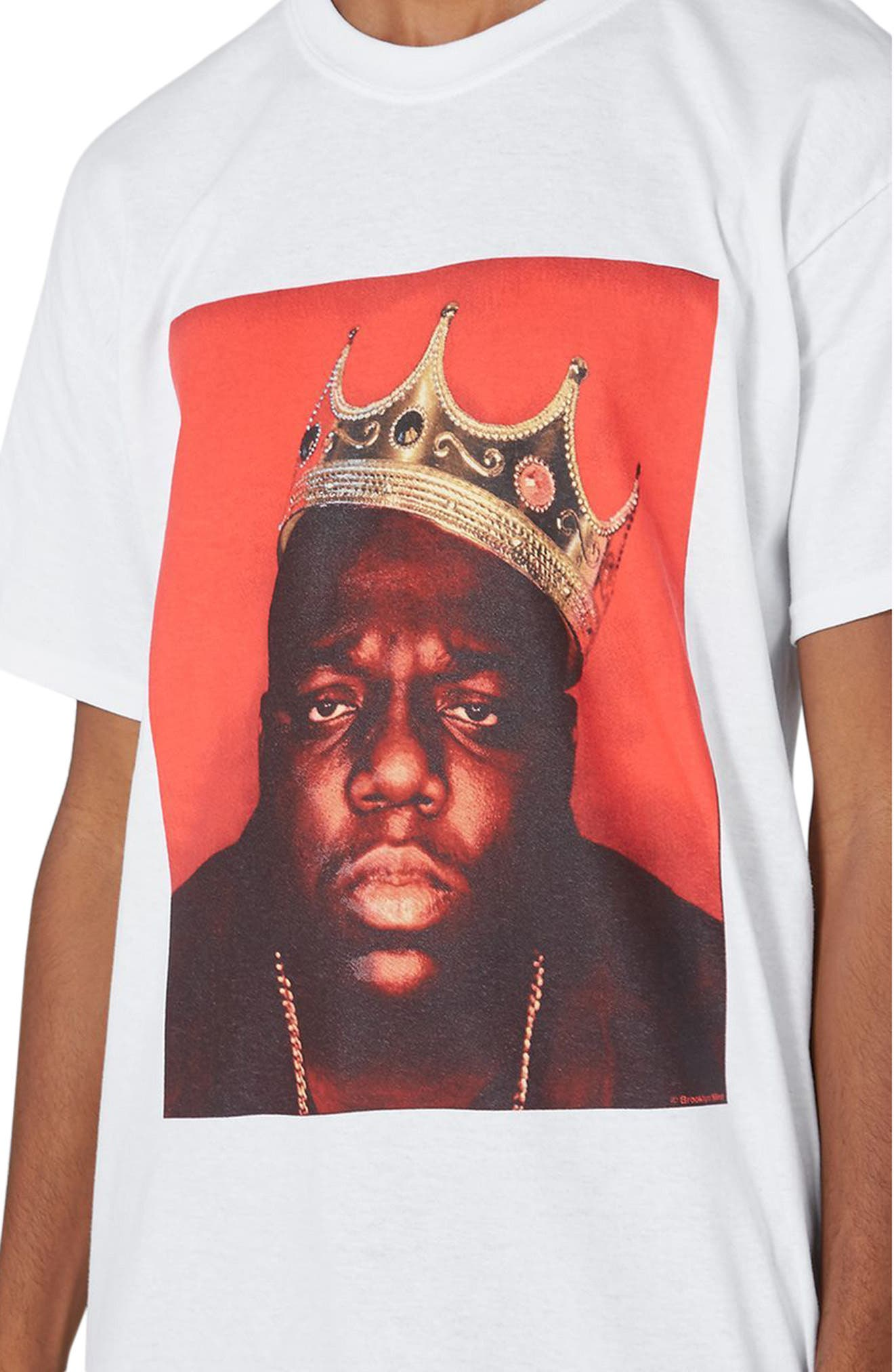 Alternate Image 3  - Topman Biggie Crown T-Shirt