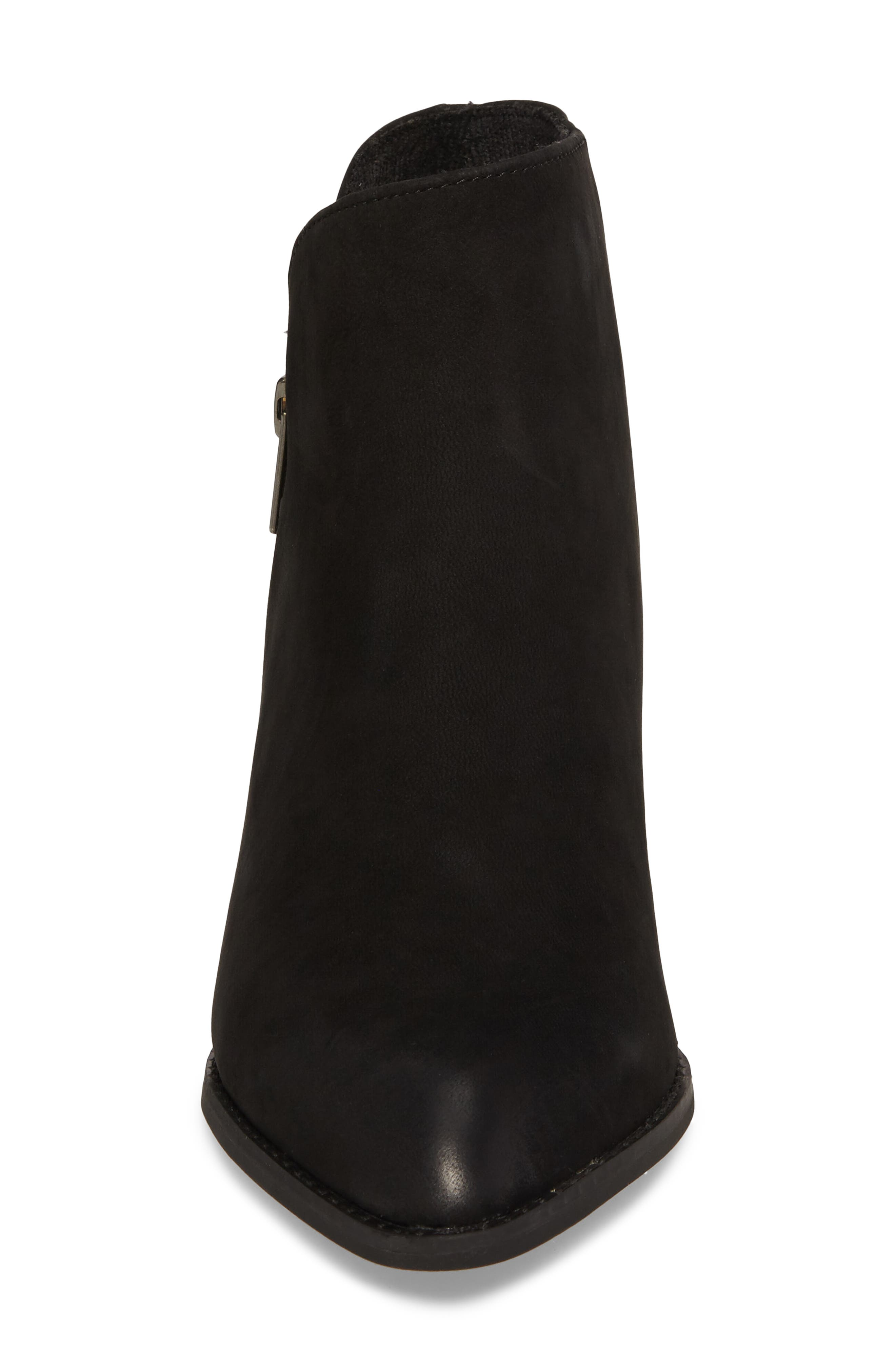 Chaparral Bootie,                             Alternate thumbnail 4, color,                             Black Leather