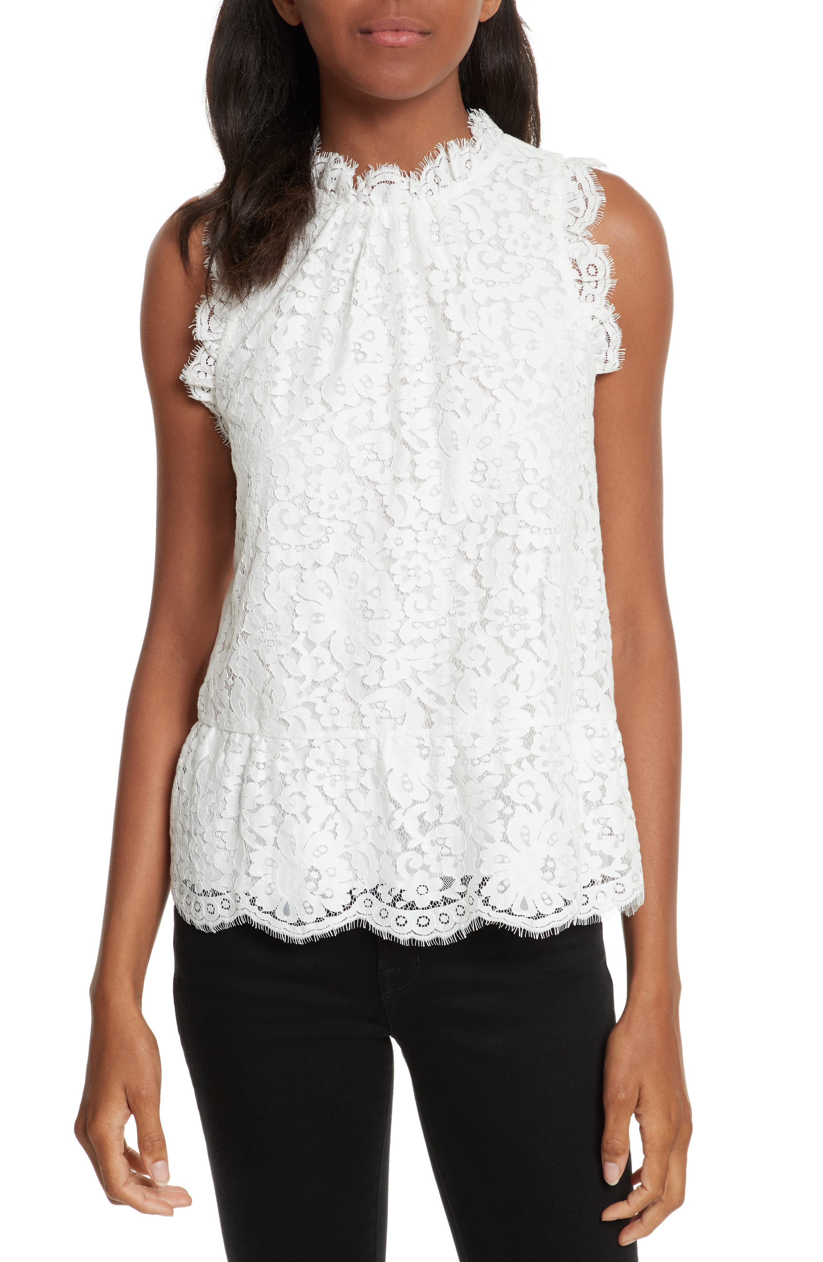 Alternate Image 1 Selected - Joie Marineth Lace Top