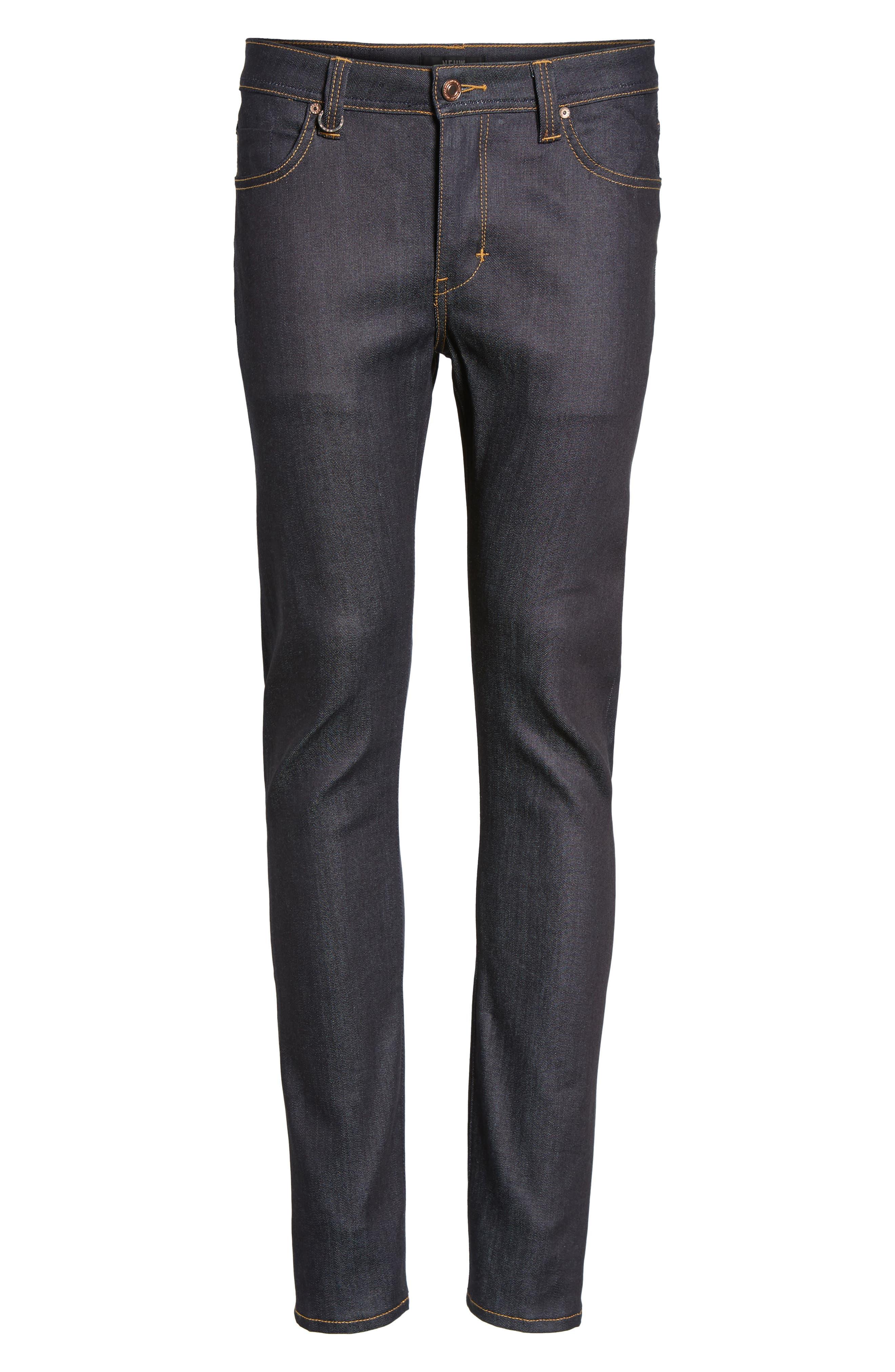 Alternate Image 6  - Neuw Iggy Skinny Jeans (Raw Stretch)