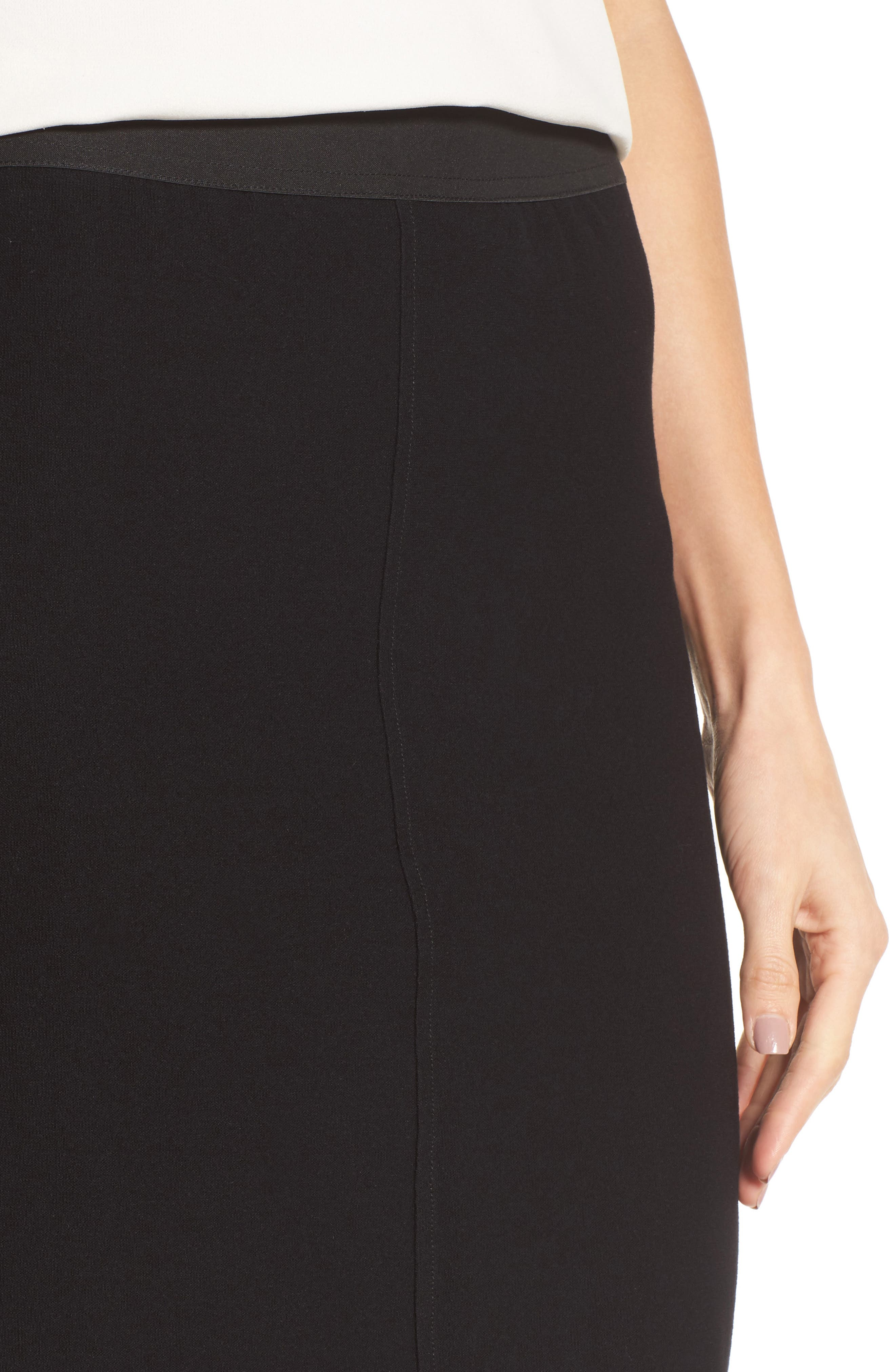 Alternate Image 4  - Eileen Fisher Knit Pencil Skirt (Nordstrom Exclusive)