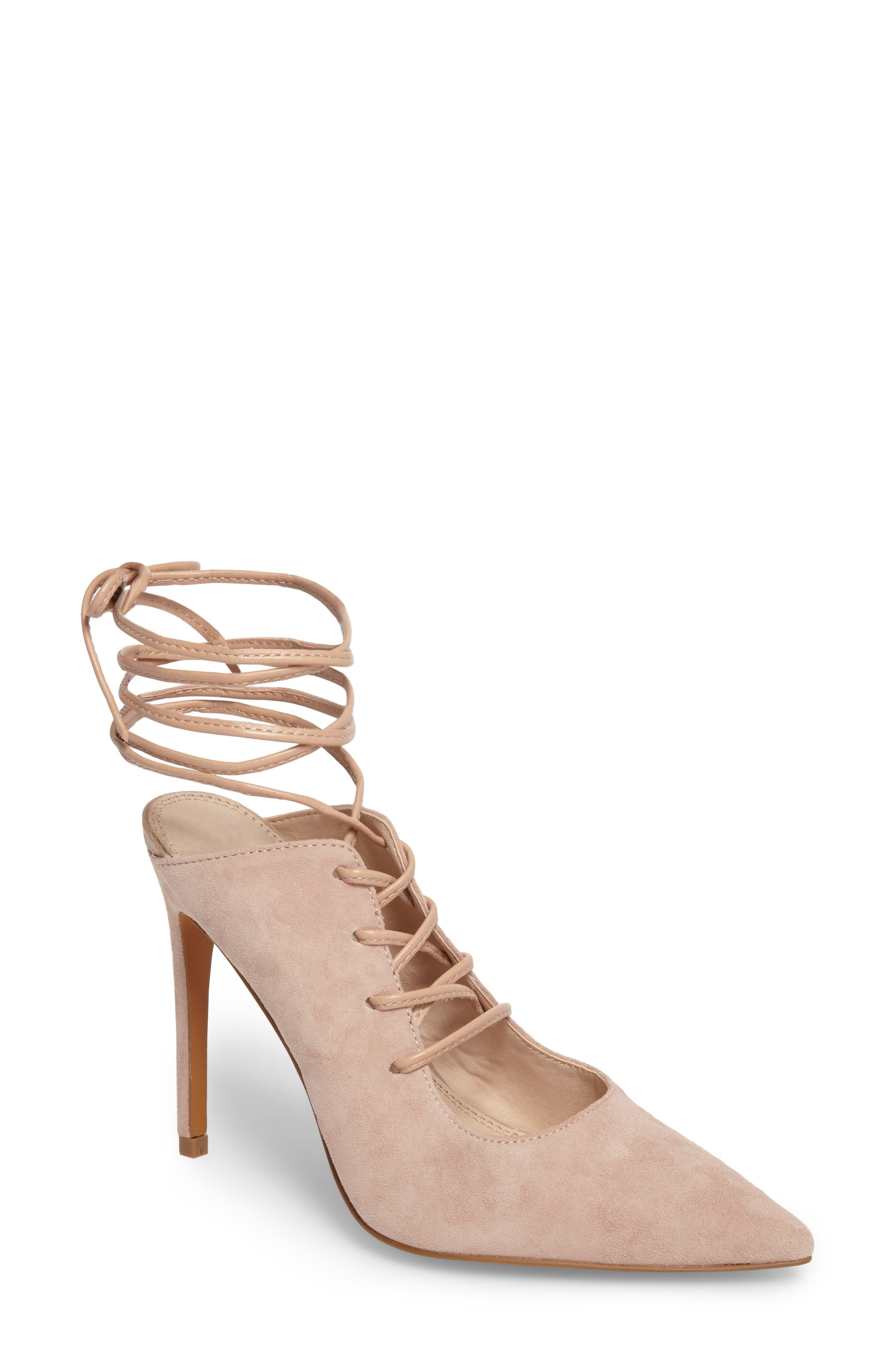 Topshop Giggle Ghillie Pump (Women)