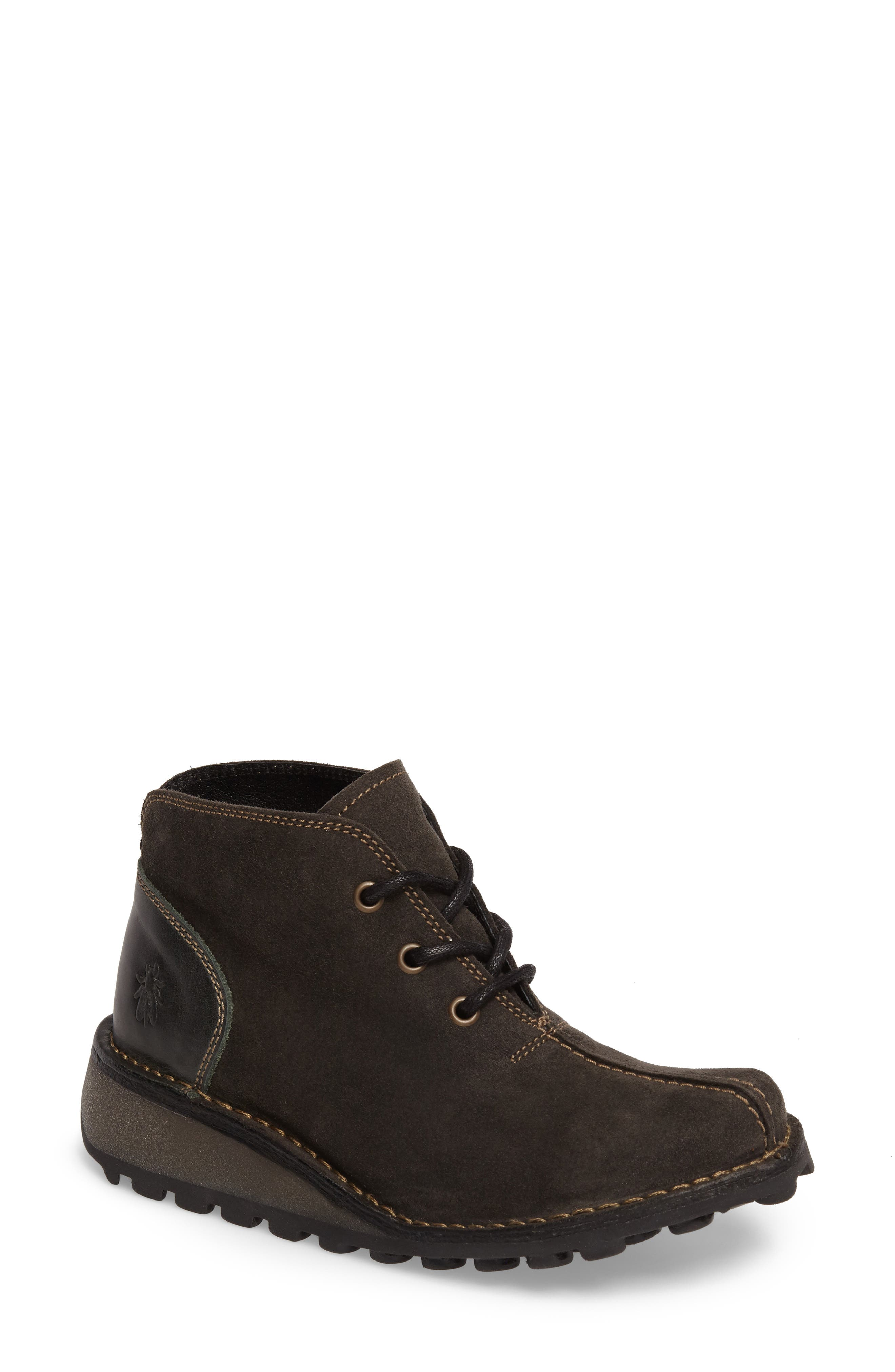 Alternate Image 1 Selected - Fly London Mili Wedge Bootie (Women)