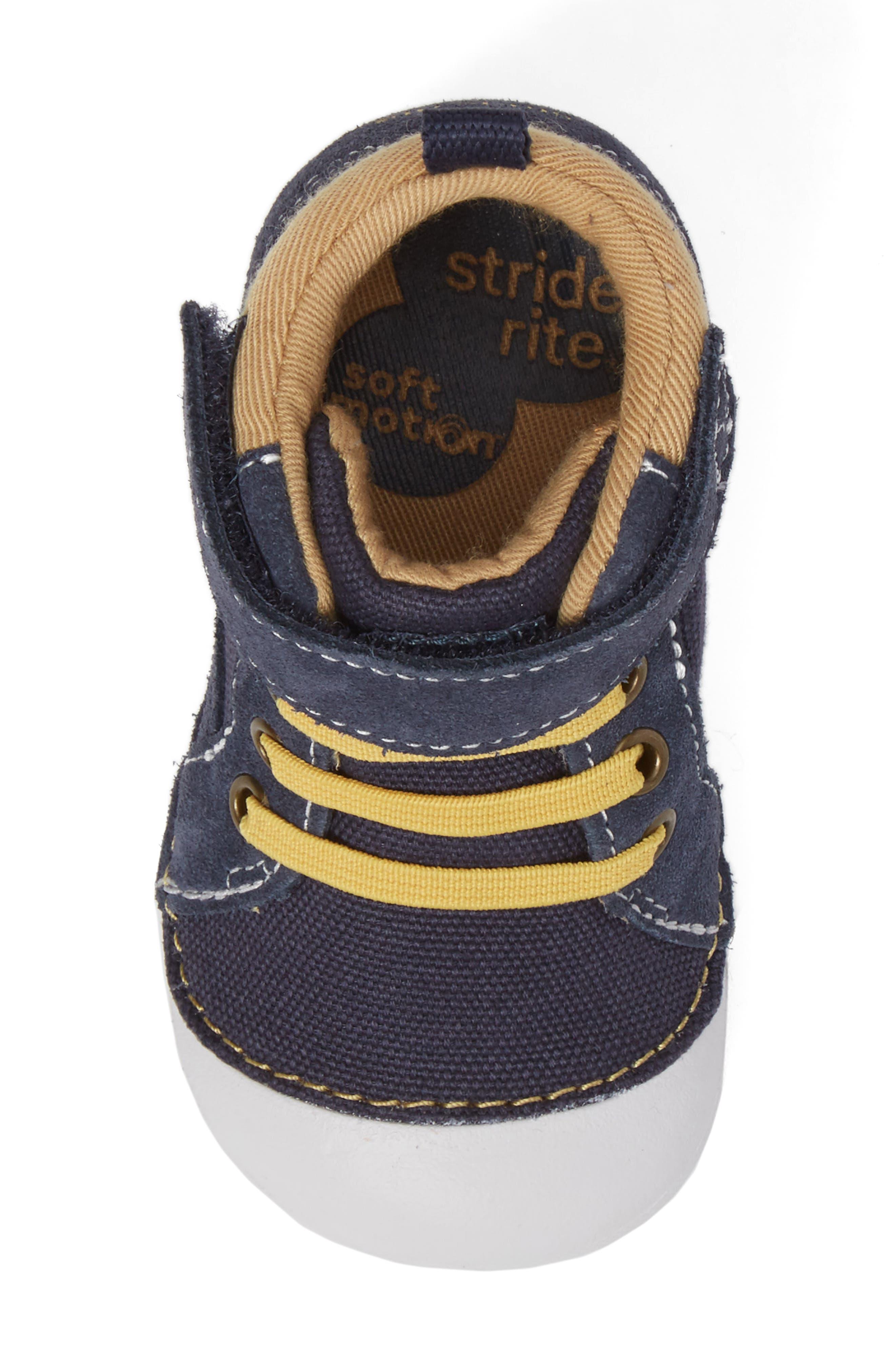 Soft Motion Danny Sneaker,                             Alternate thumbnail 5, color,                             Navy