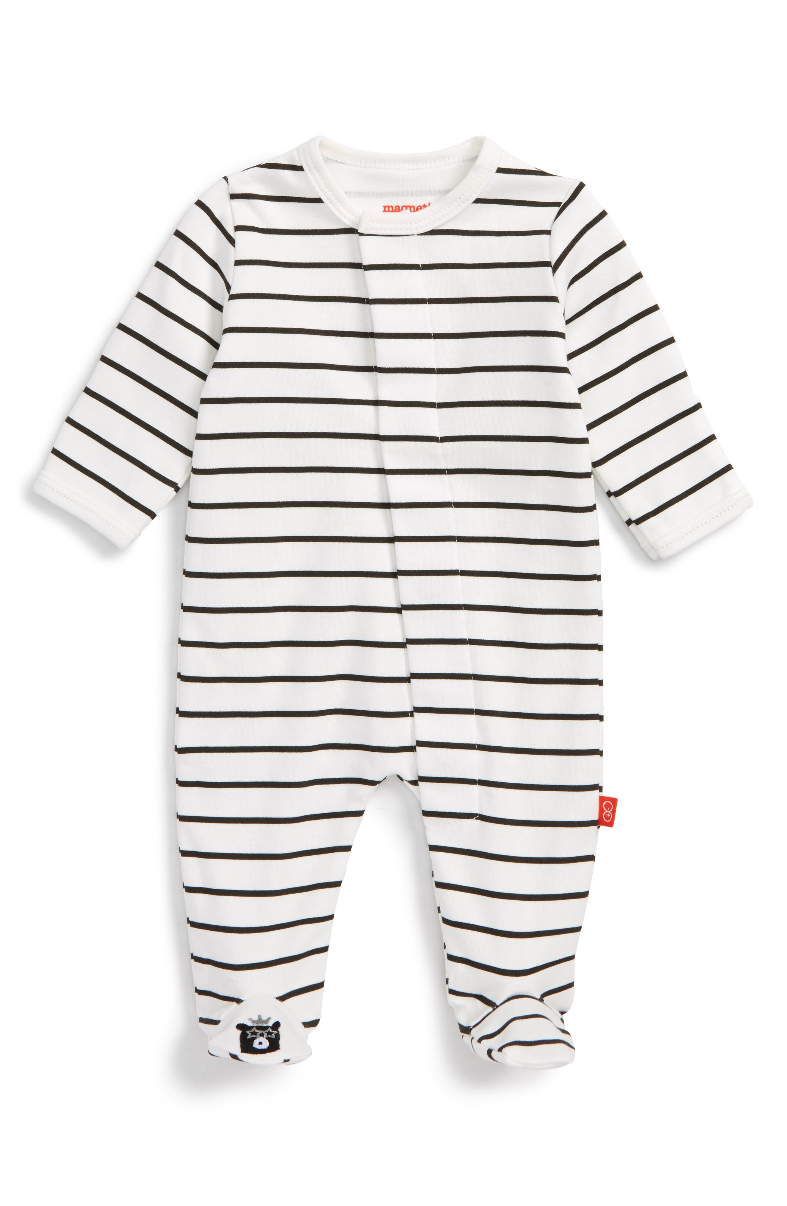 Magnetic Me Fitted One-Piece Pajamas (Baby Girls)
