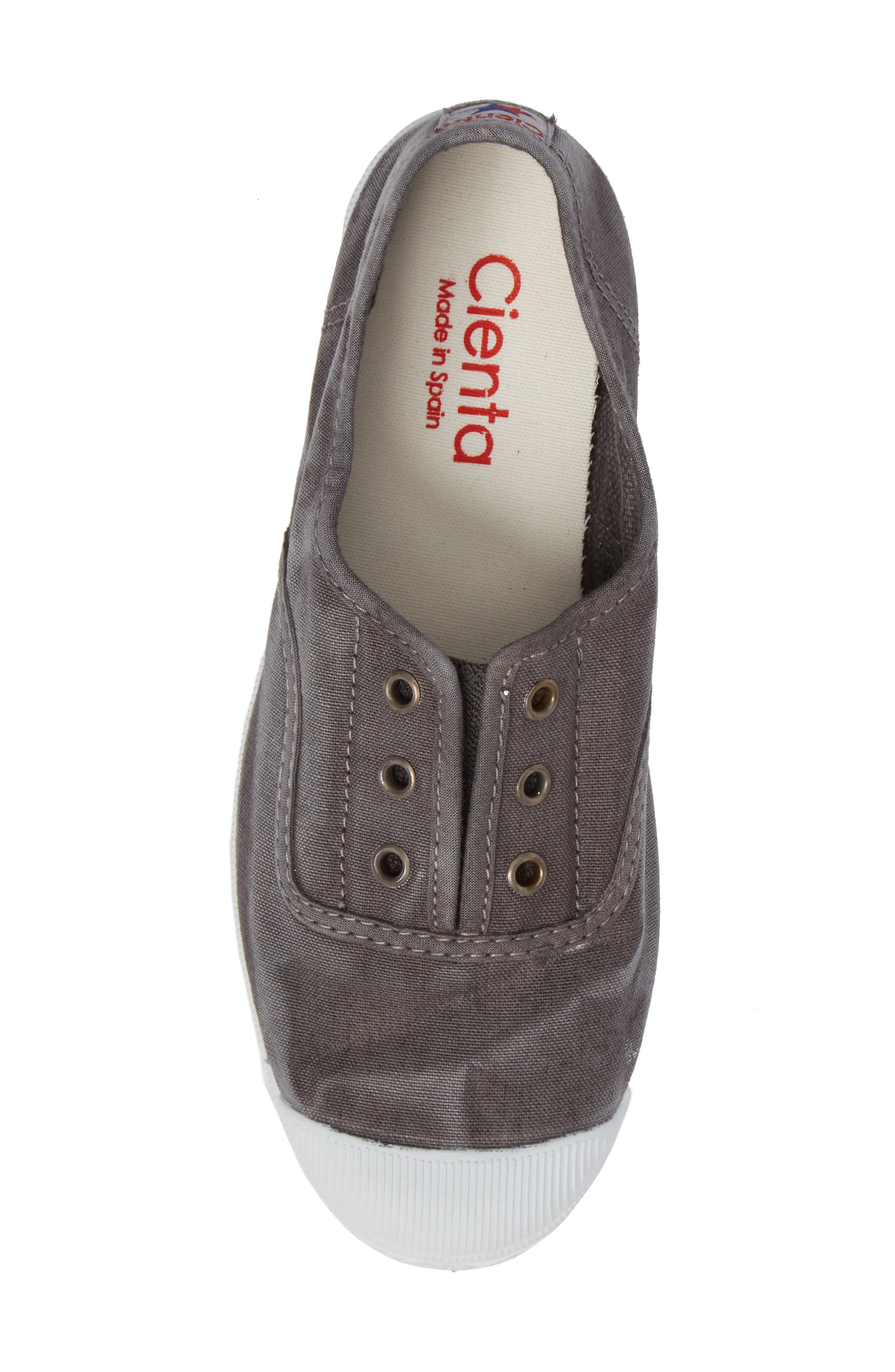 Alternate Image 5  - Cienta Laceless Slip-On Sneaker (Walker, Toddler, Little Kid & Big Kid)