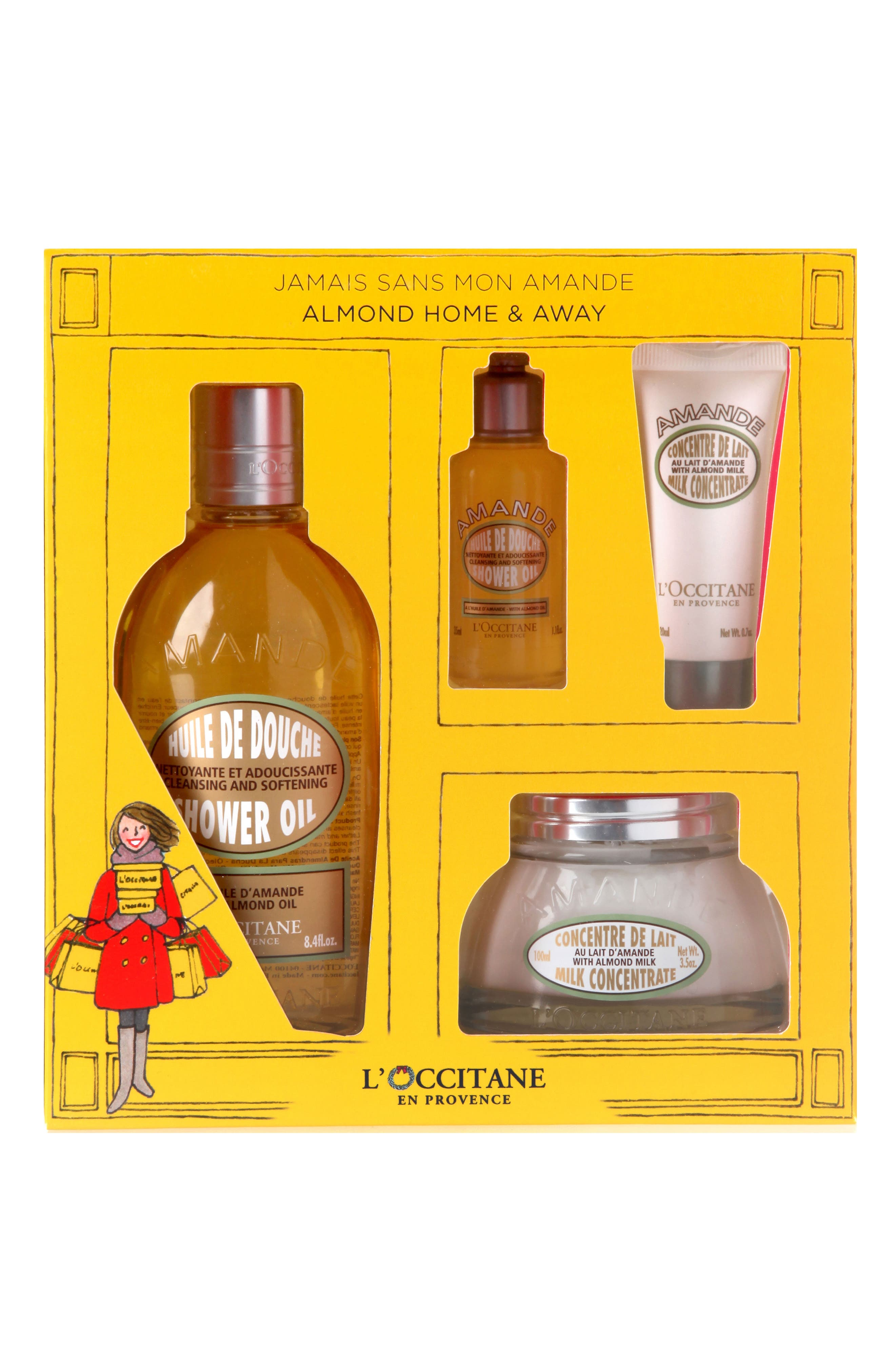 L'Occitane Almond Home & Away Set ($65.50 Value)   Nordstrom