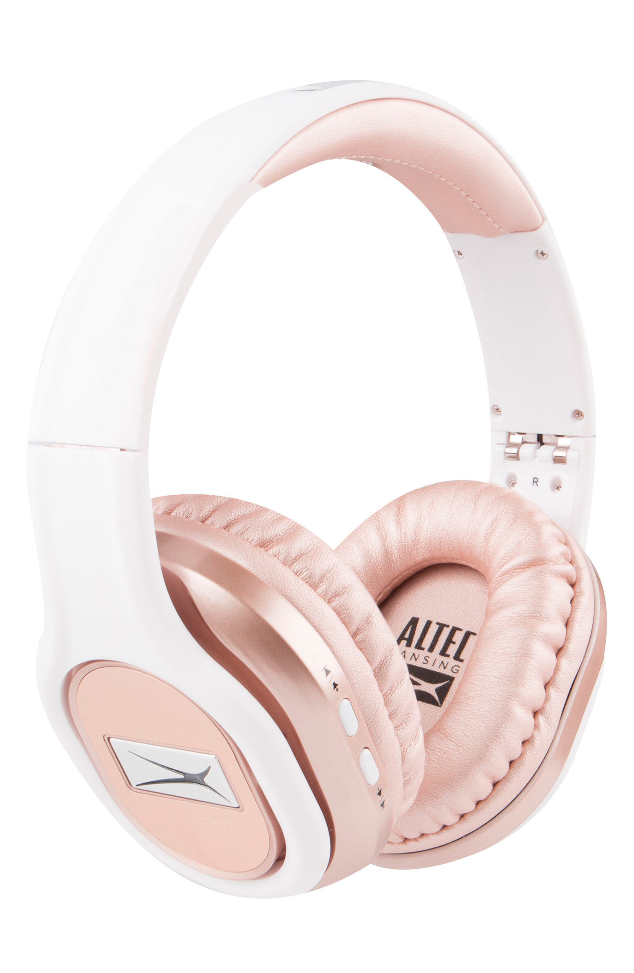 Evolution 2 Wireless Headphones,                             Main thumbnail 1, color,                             Rose Gold