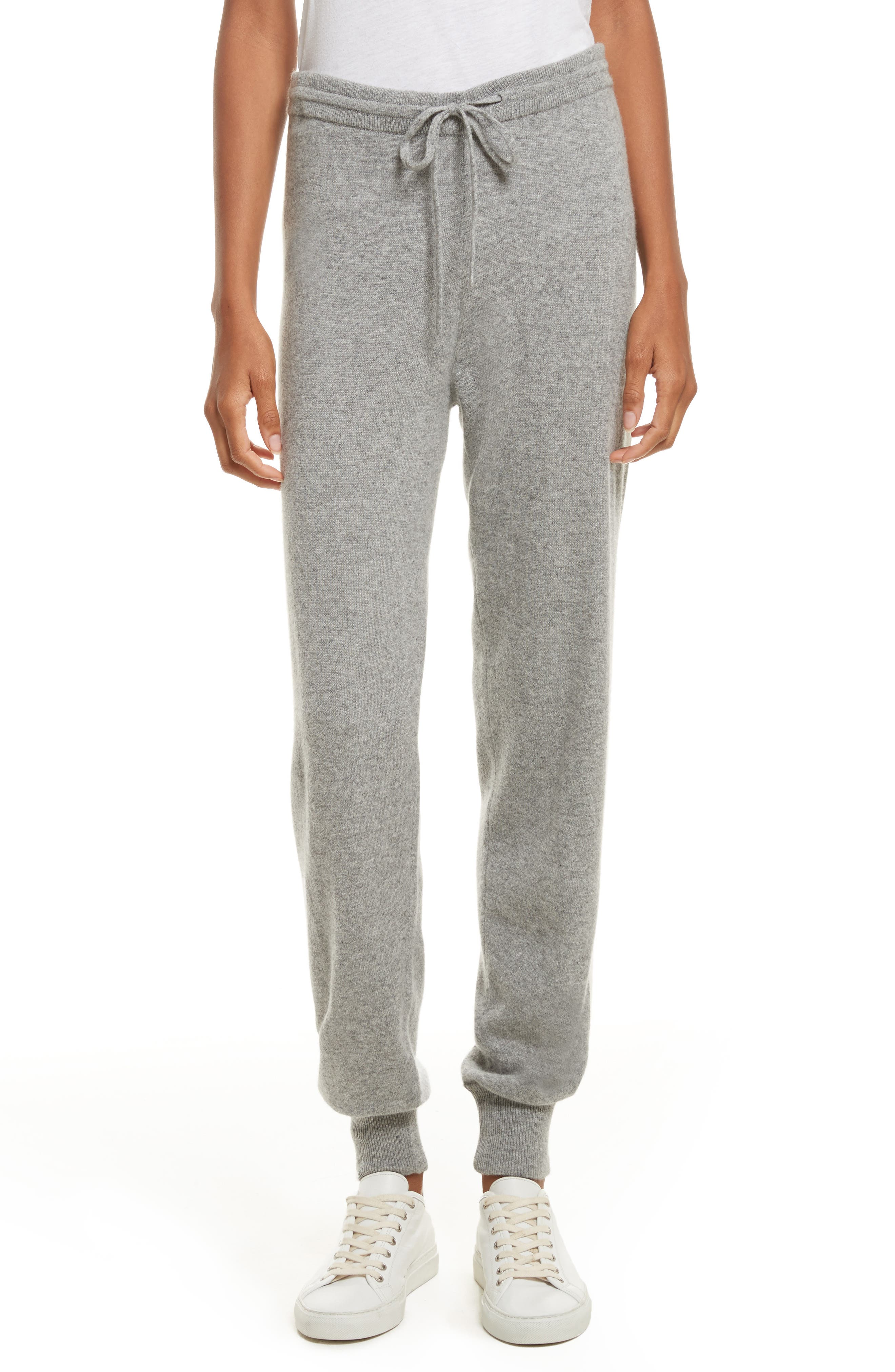 Theory Athletic Stripe Cashmere Lounge Pants