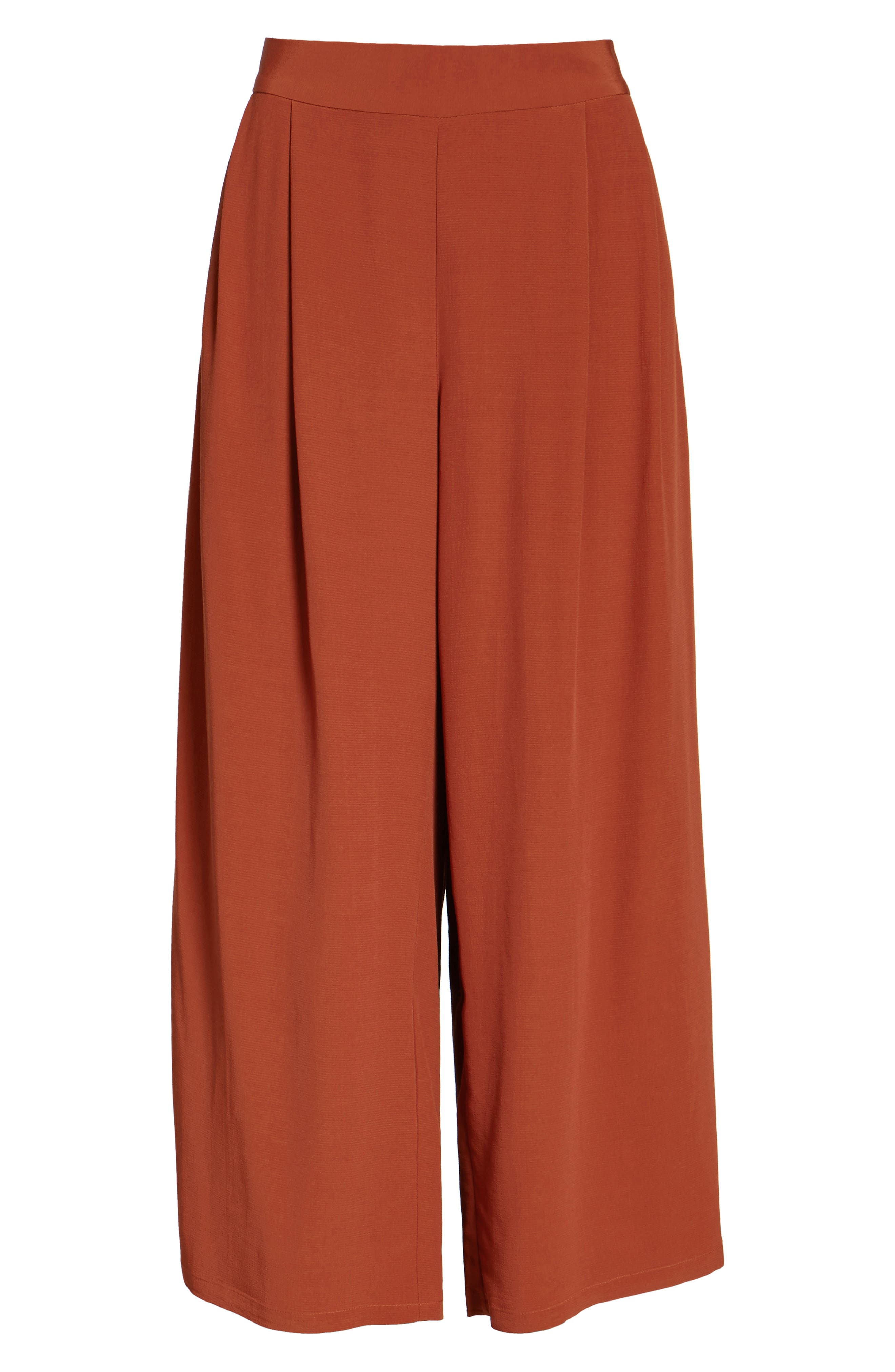 Alternate Image 6  - Eileen Fisher Wide Leg Pants (Regular & Petite)
