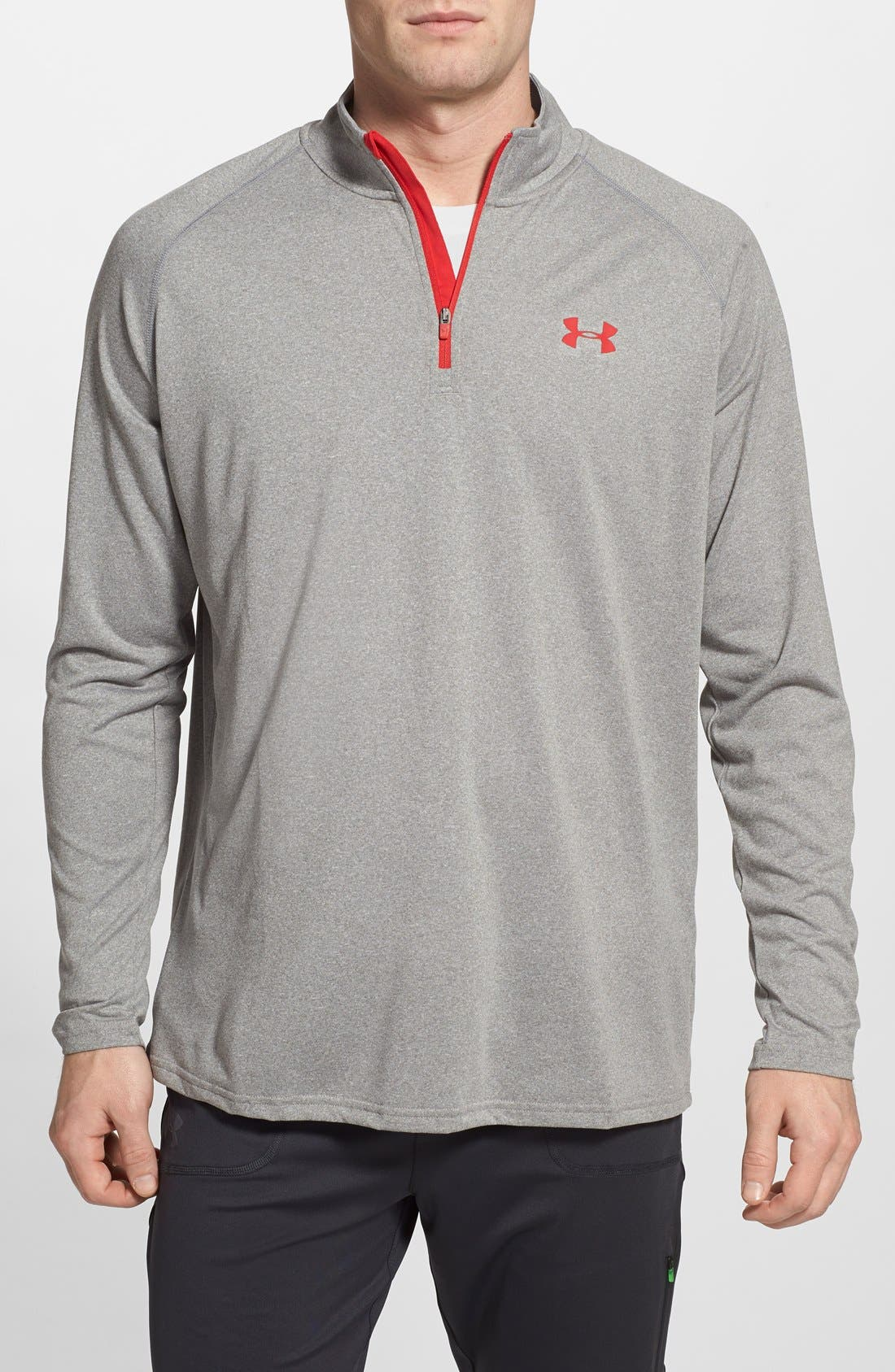 Main Image - Under Armour 'Tech' Quarter Zip Pullover