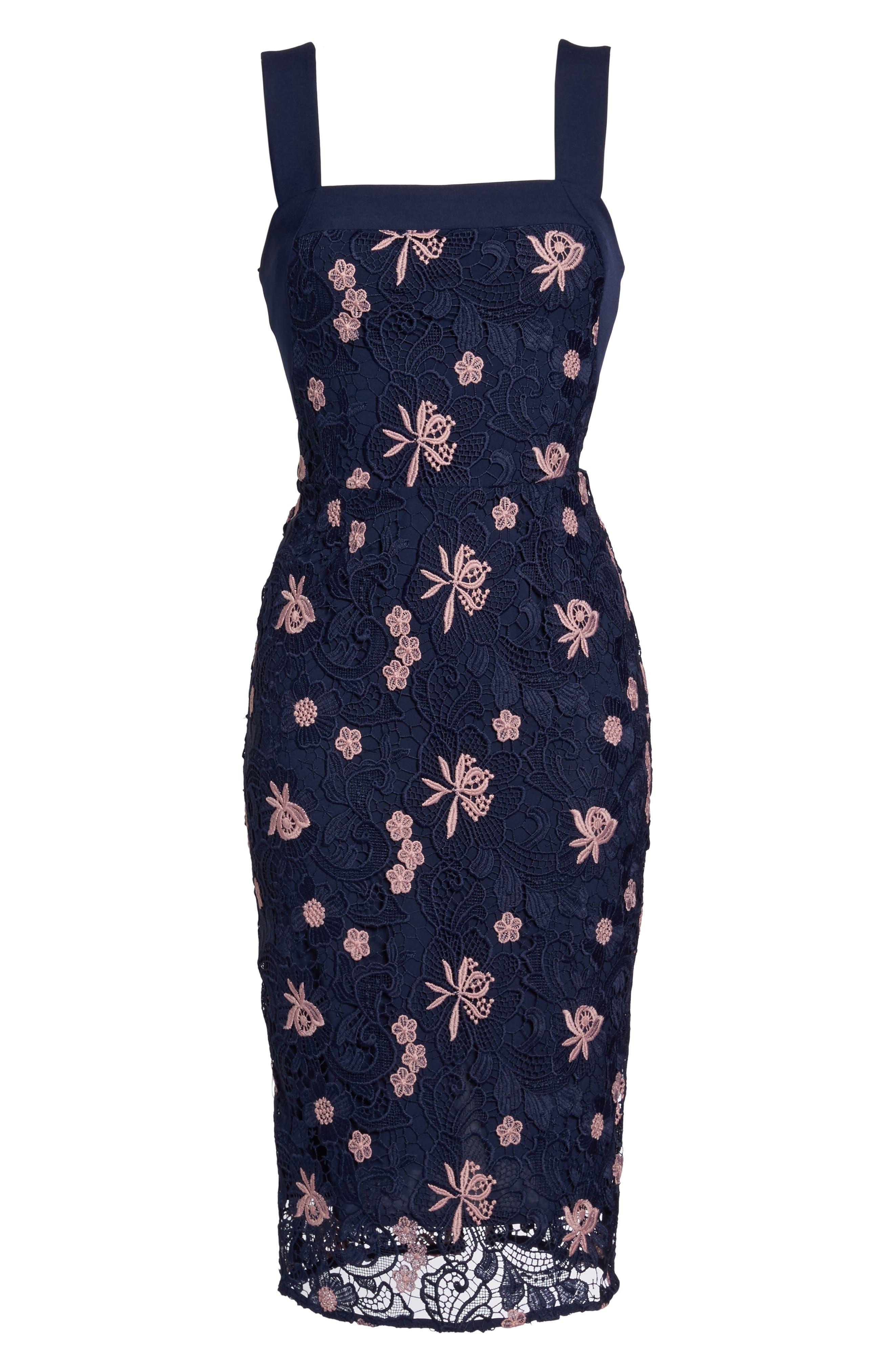 Alternate Image 6  - Cooper St Botanic Bloom Sheath Dress
