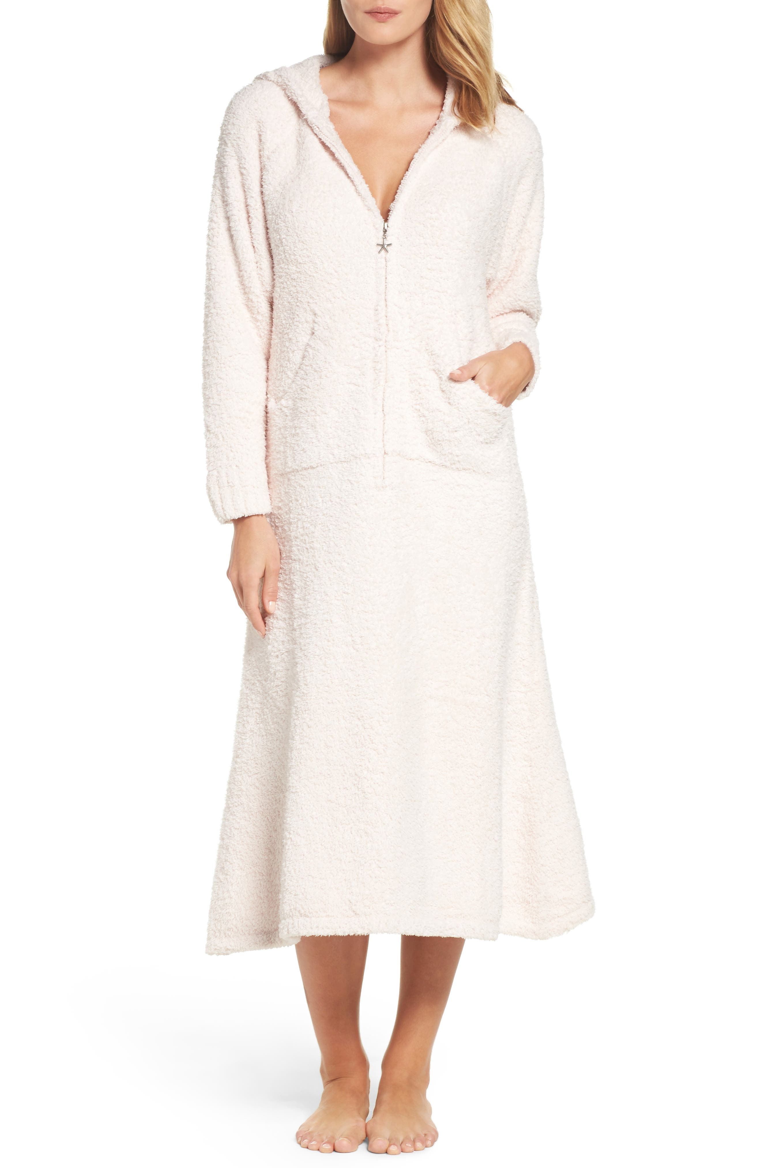 Barefoot Dreams® CozyChic® Hooded Zip Robe