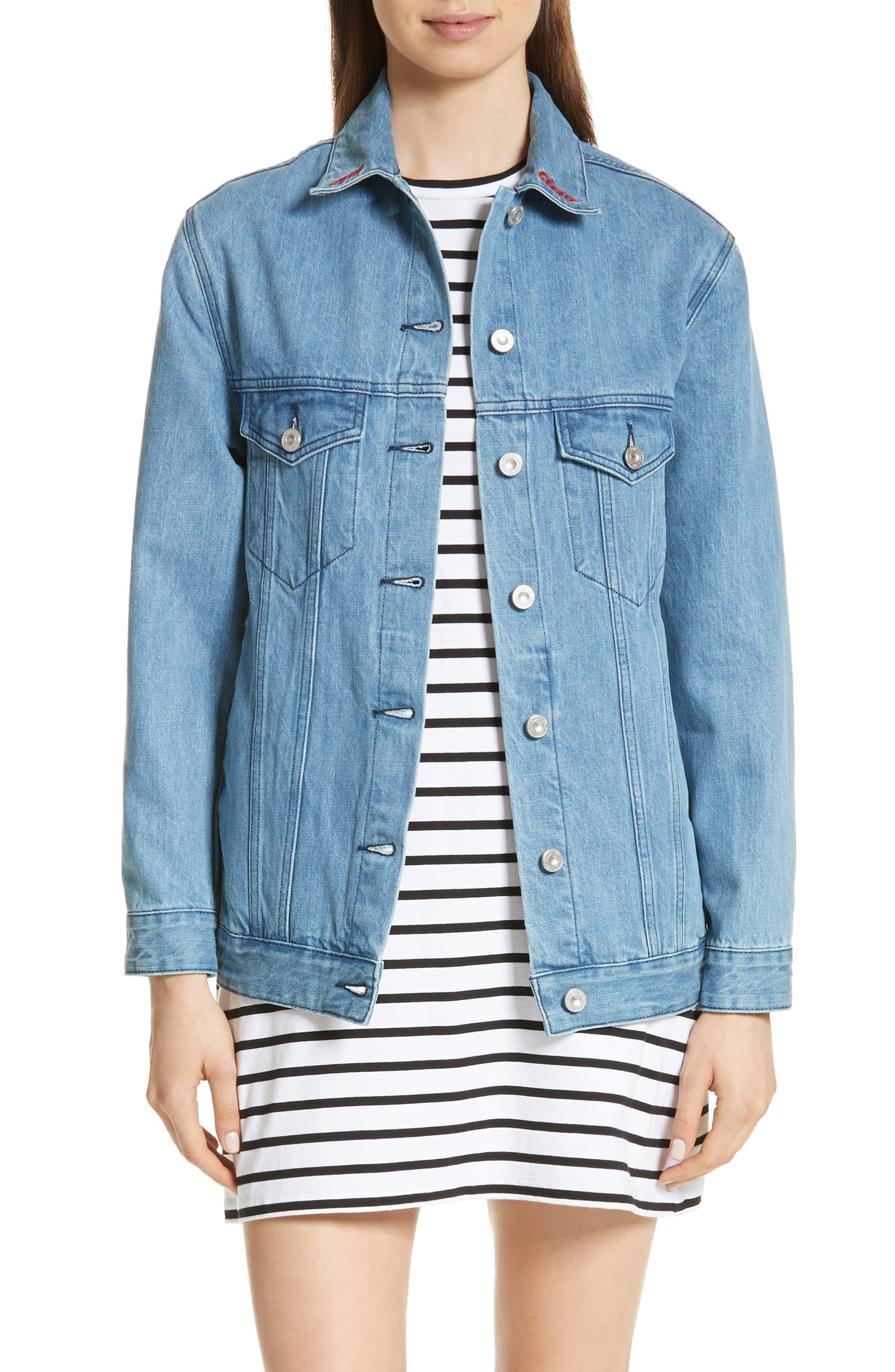 être cécile The Real Live Bunch Oversize Denim Jacket