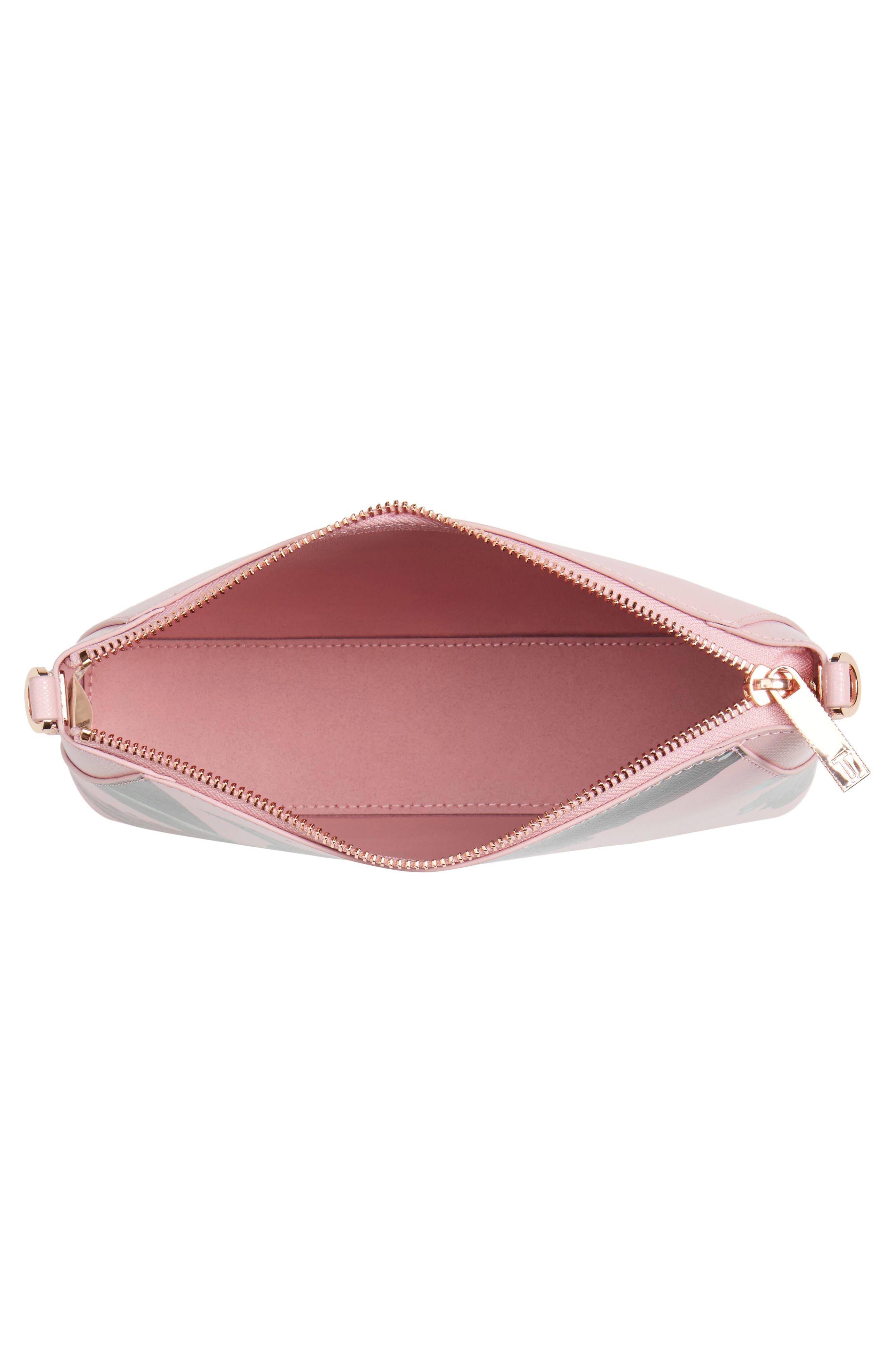 Julisa Eden Crossbody Bag,                             Alternate thumbnail 3, color,                             Pale Pink