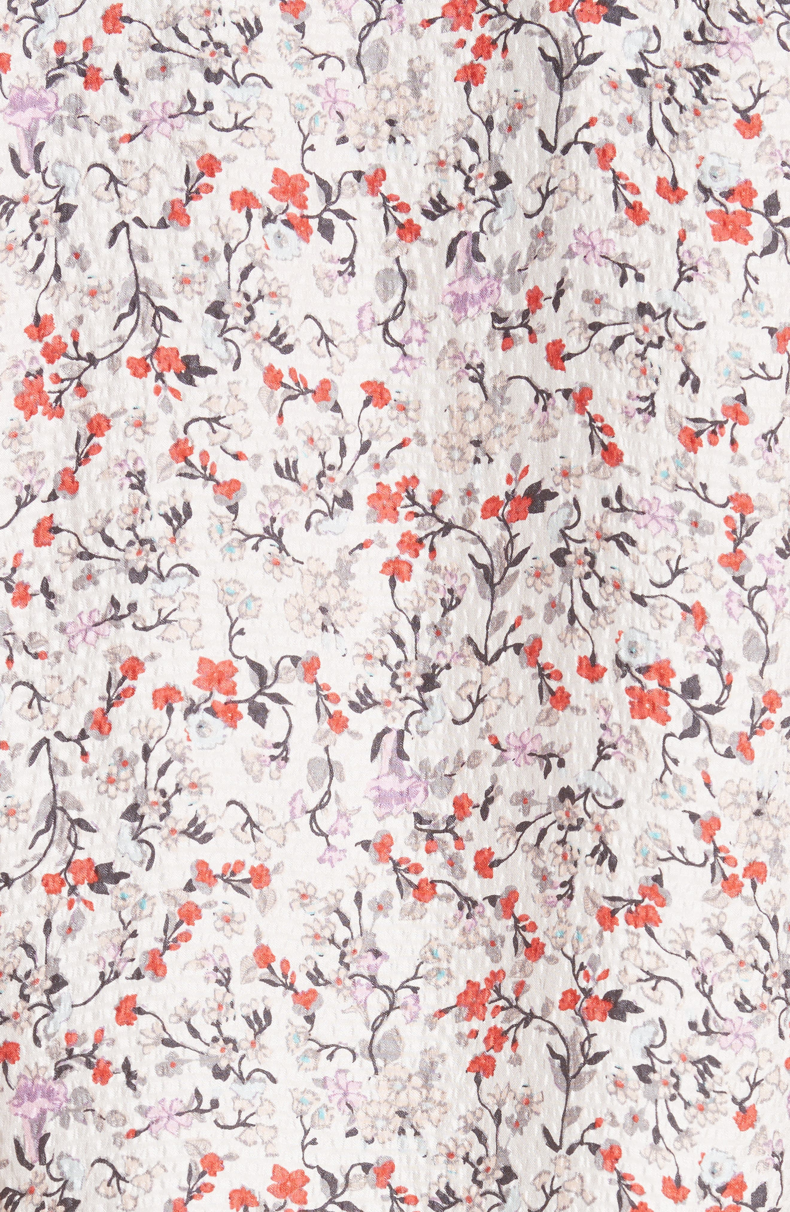 Alternate Image 5  - Rebecca Taylor Lyra Floral Silk Top