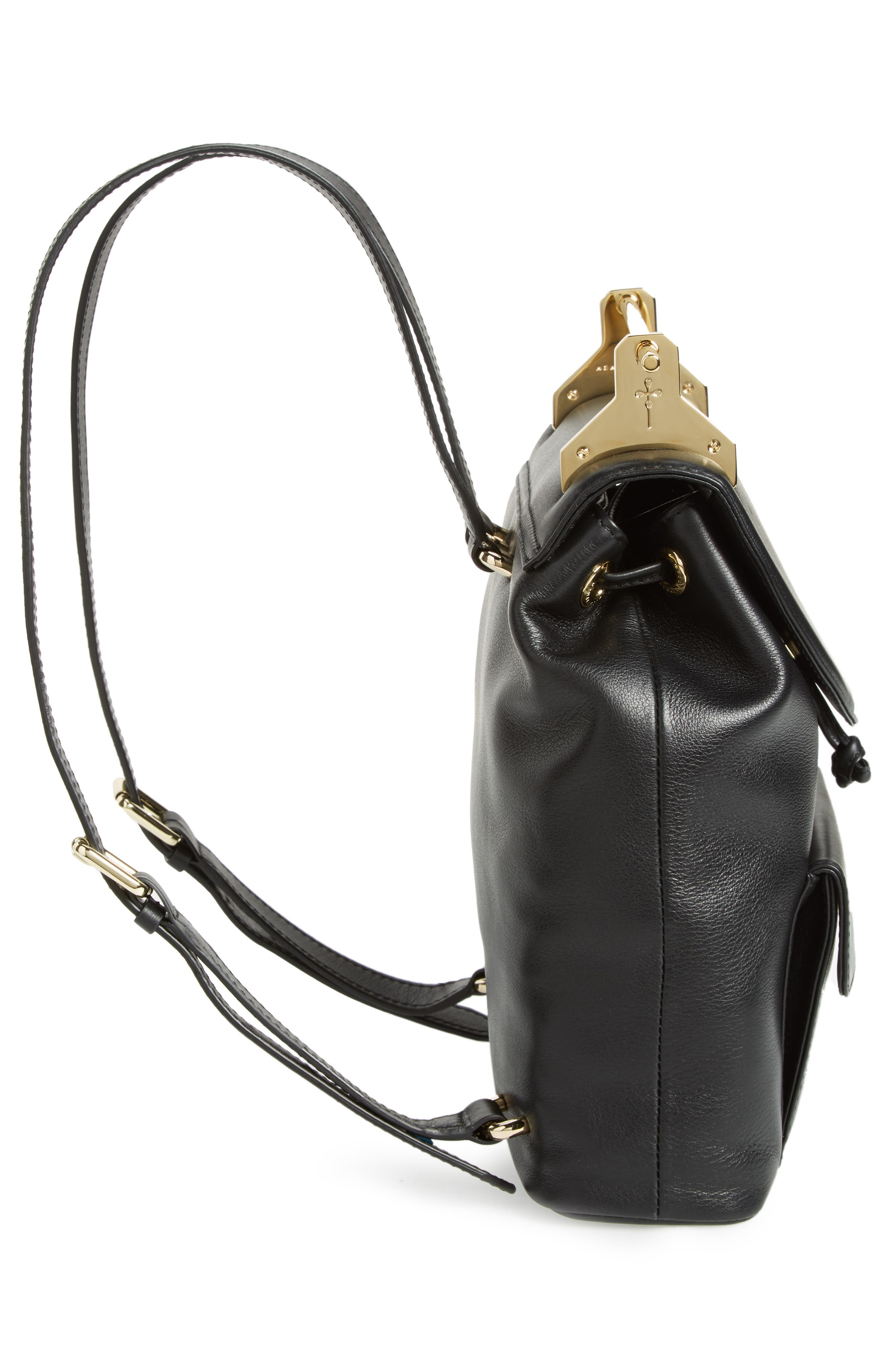 Alternate Image 5  - M2Malletier Calfskin Leather Backpack