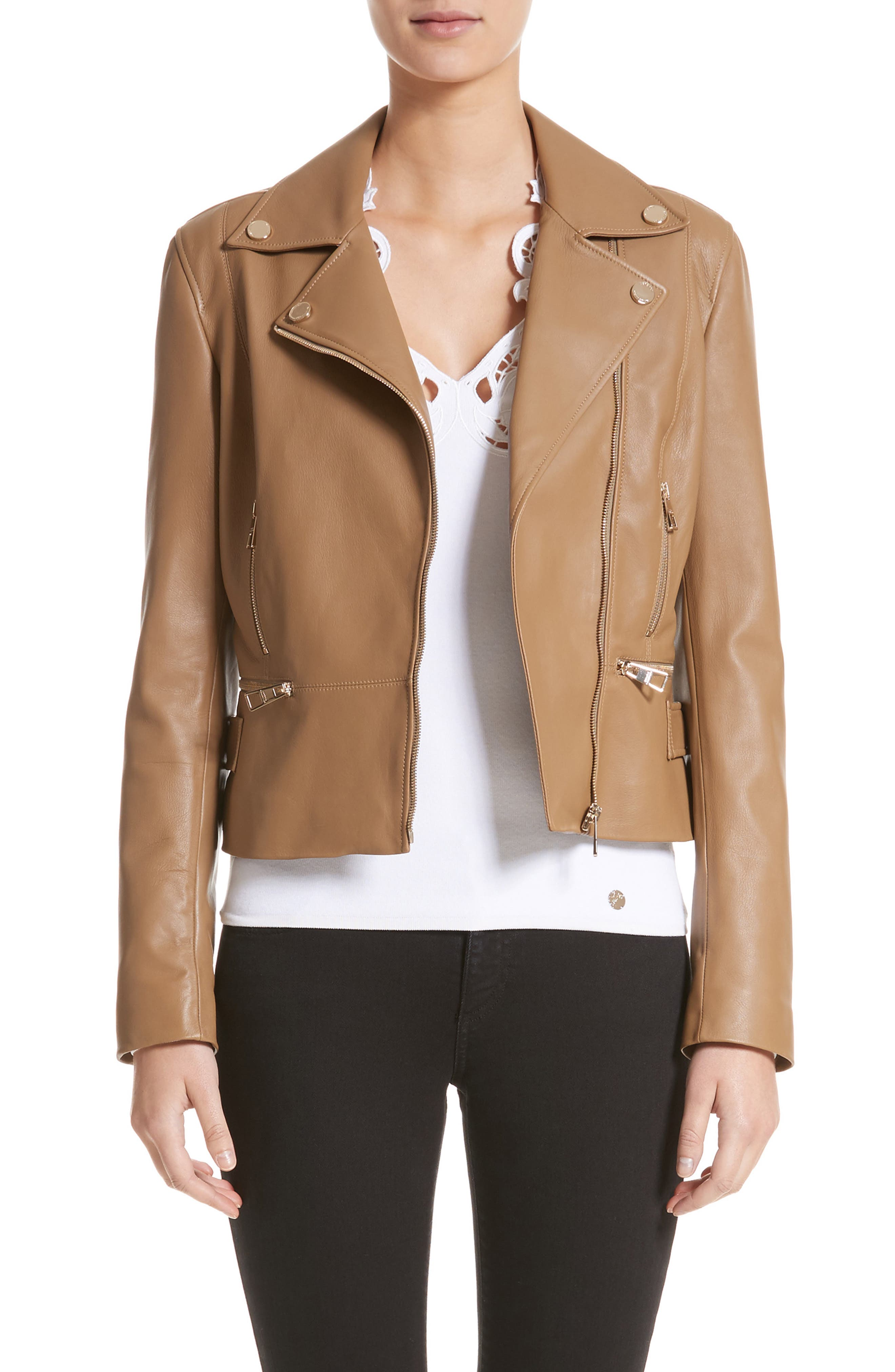 Versace Collection Nappa Leather Jacket