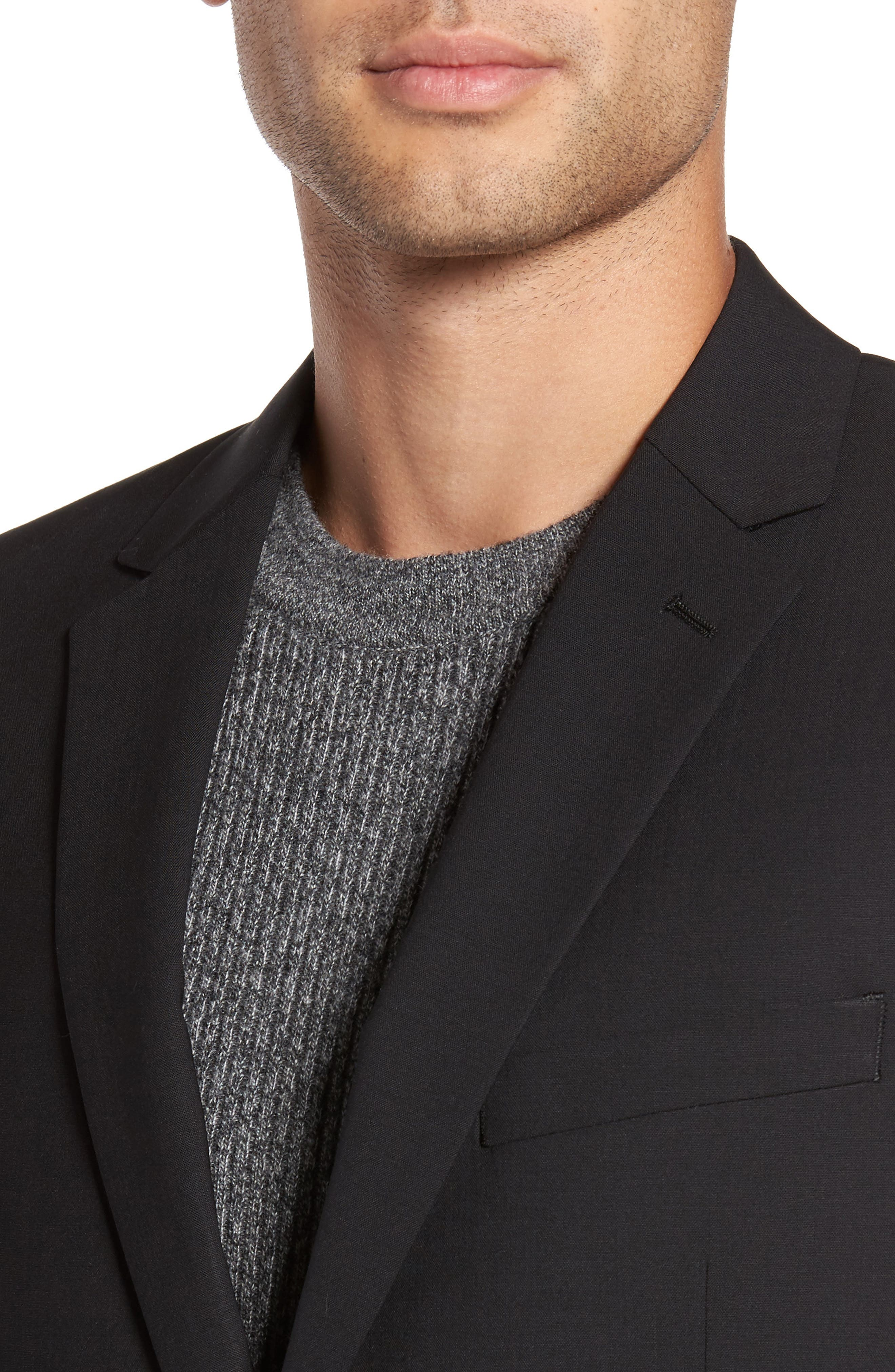 Alternate Image 4  - Theory 'Wellar New Tailor' Trim Fit Wool Blend Sport Coat