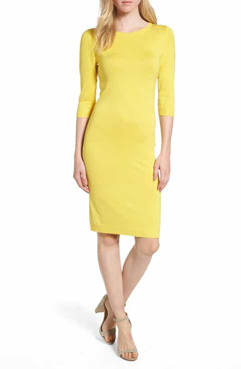 Women S Yellow Dresses Nordstrom