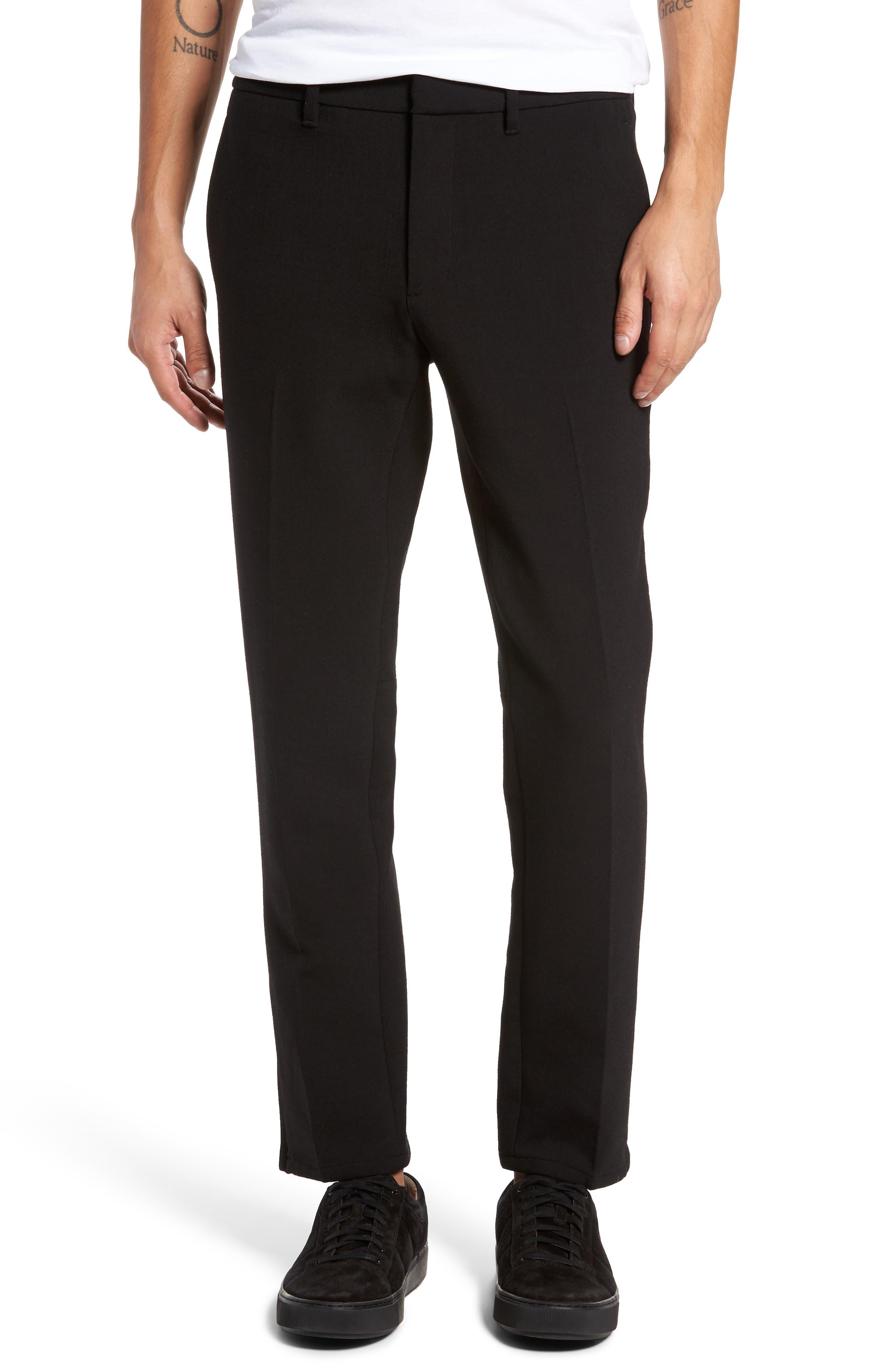 Vince Zip Hem Slim Fit Trousers
