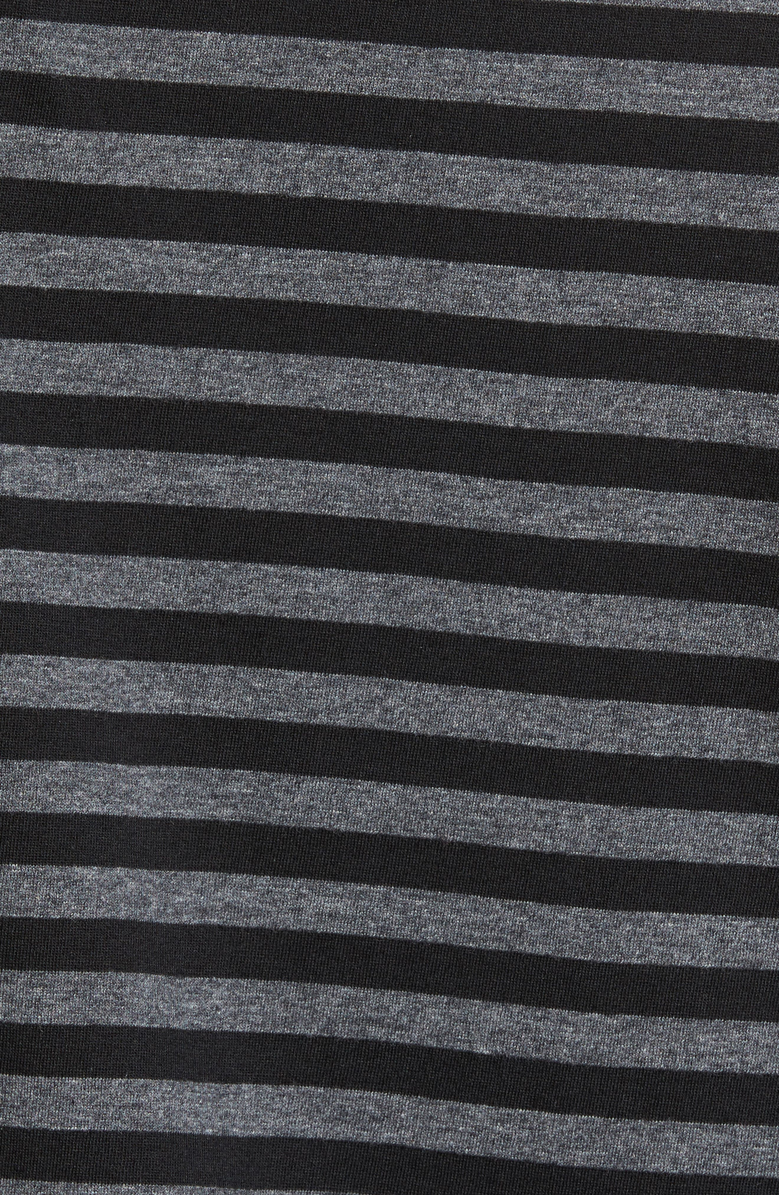 Alternate Image 5  - Slate & Stone Striped Long Sleeve Henley T-Shirt