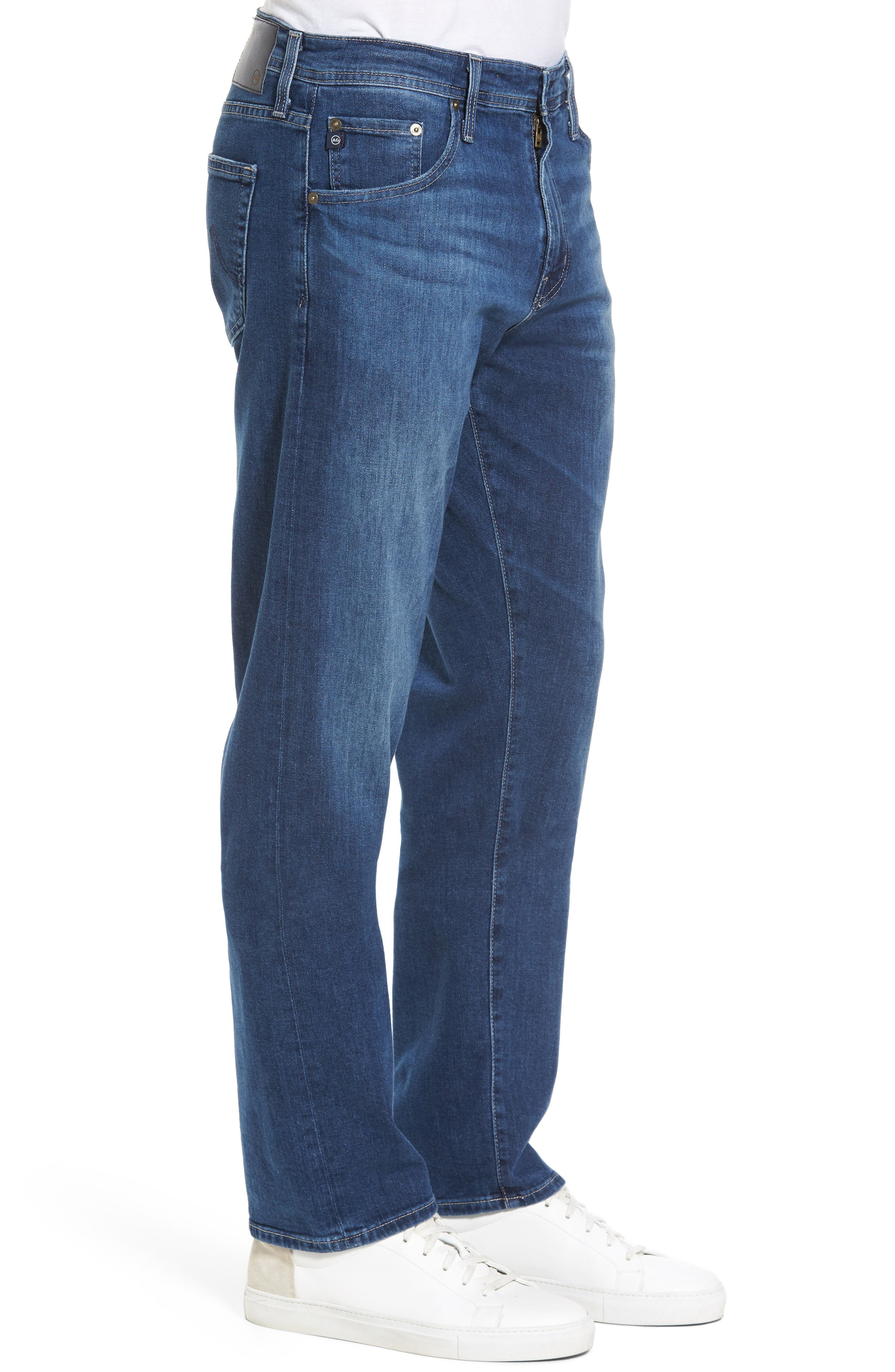 Alternate Image 3  - AG Ives Straight Leg Jeans (Stately)