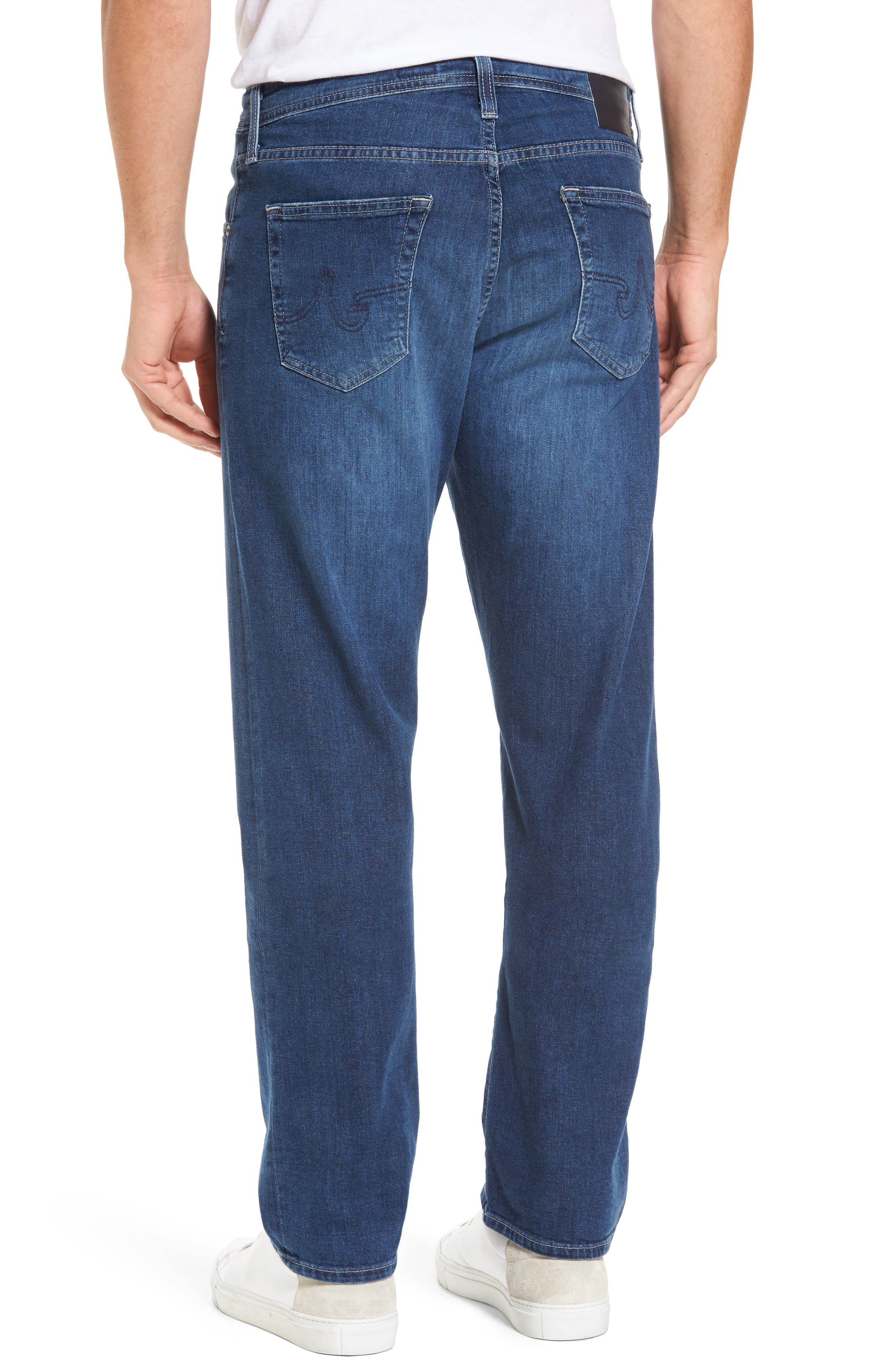 Alternate Image 2  - AG Ives Straight Leg Jeans (Stately)
