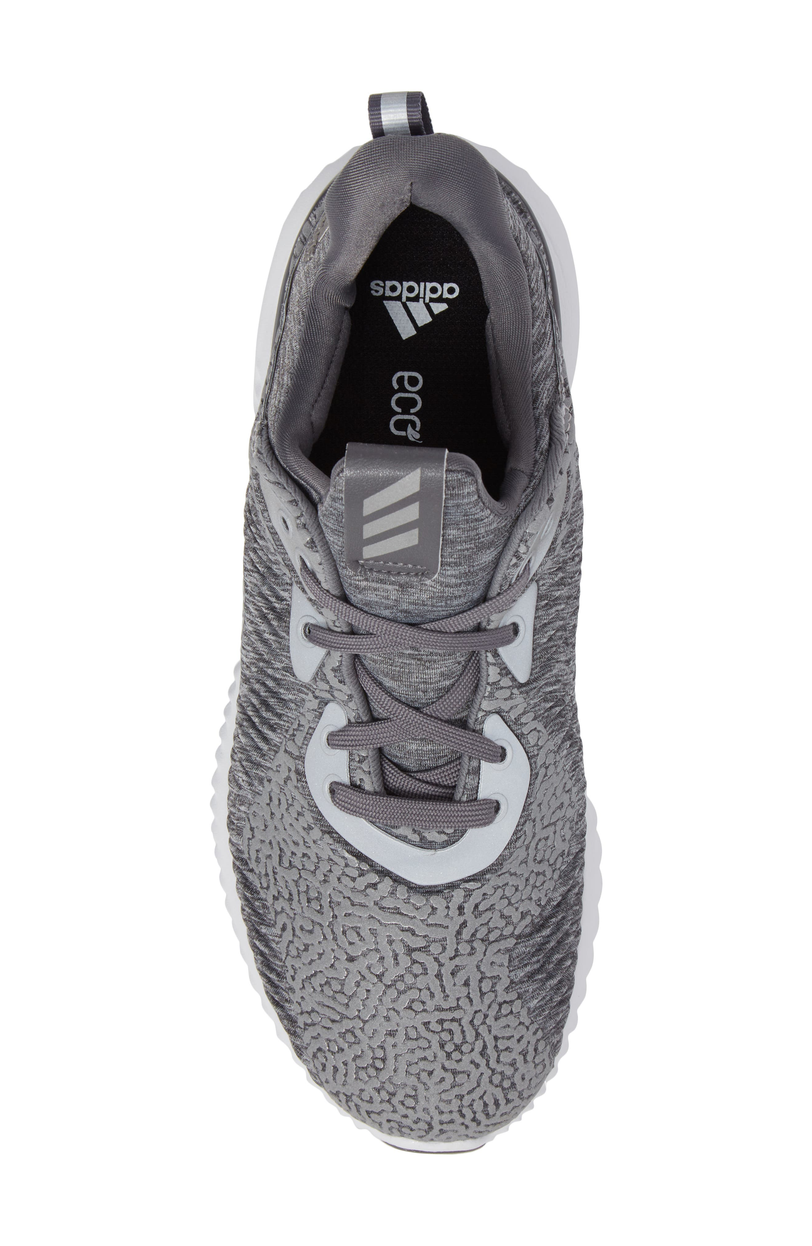 AlphaBounce Sneaker,                             Alternate thumbnail 5, color,                             Medium Grey Heather