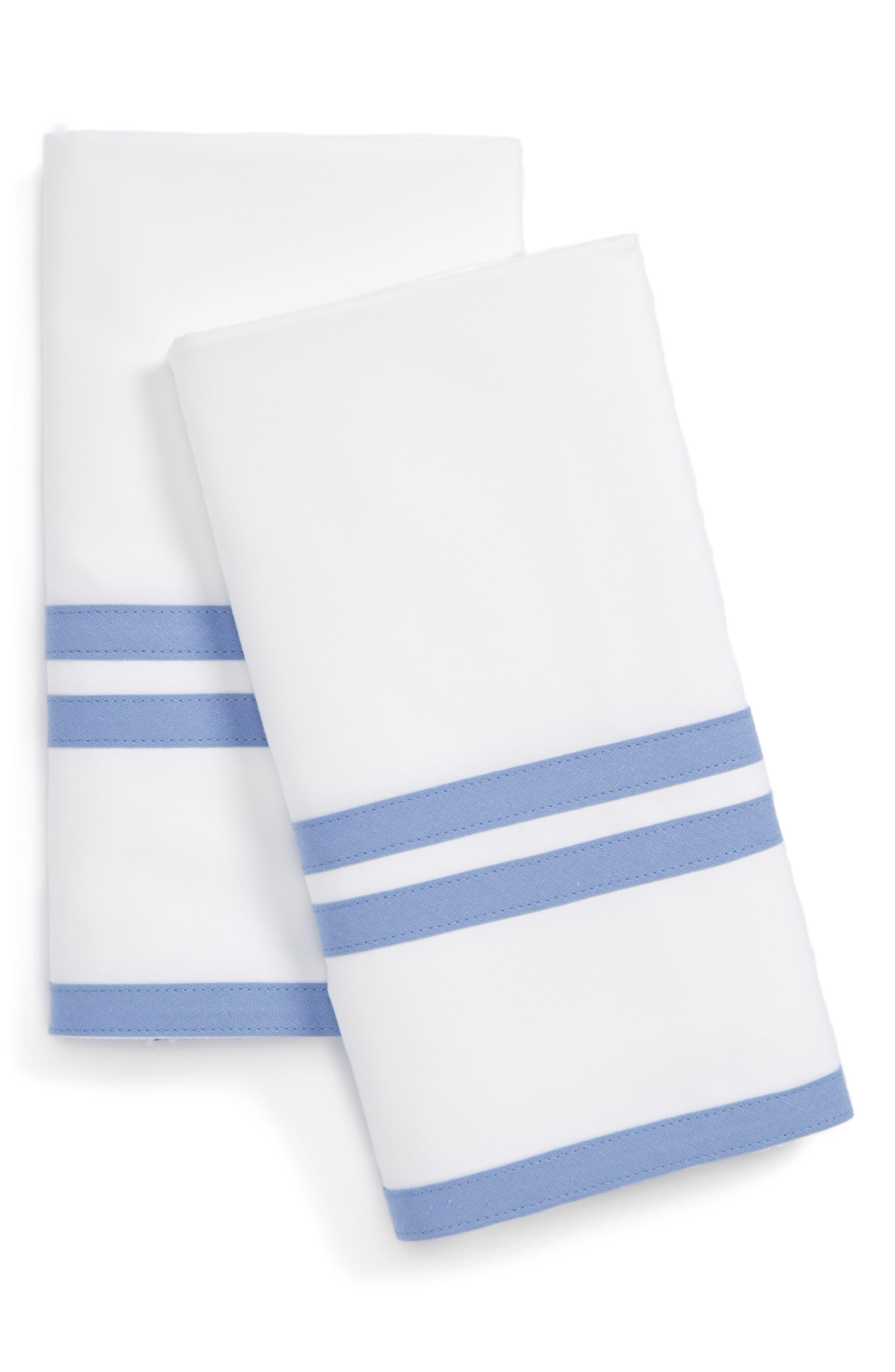 Alternate Image 1 Selected - Matouk Meridian Pillowcases
