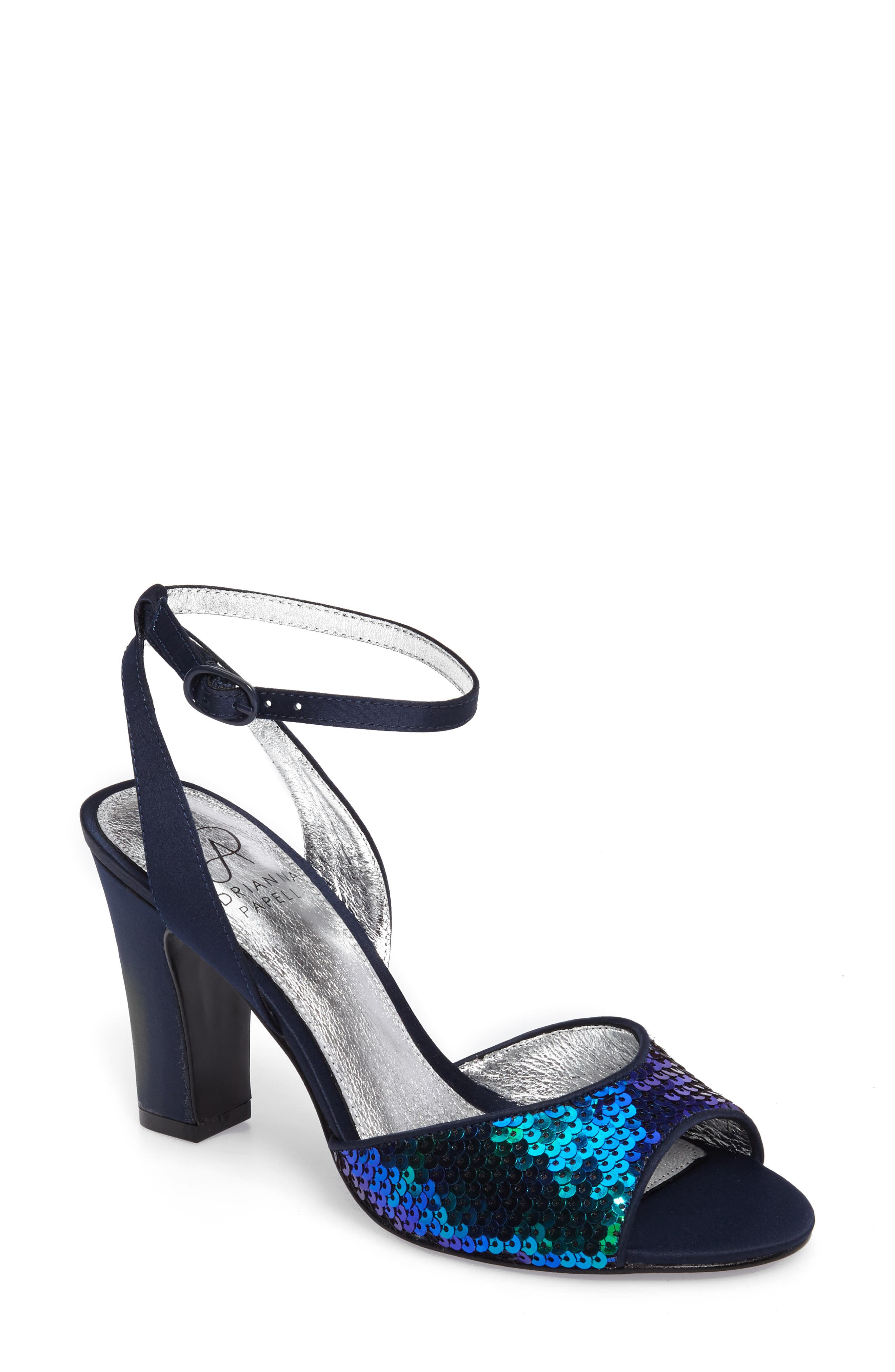 Alternate Image 1 Selected - Adrianna Papell Astrid Ankle Strap Sandal (Women)