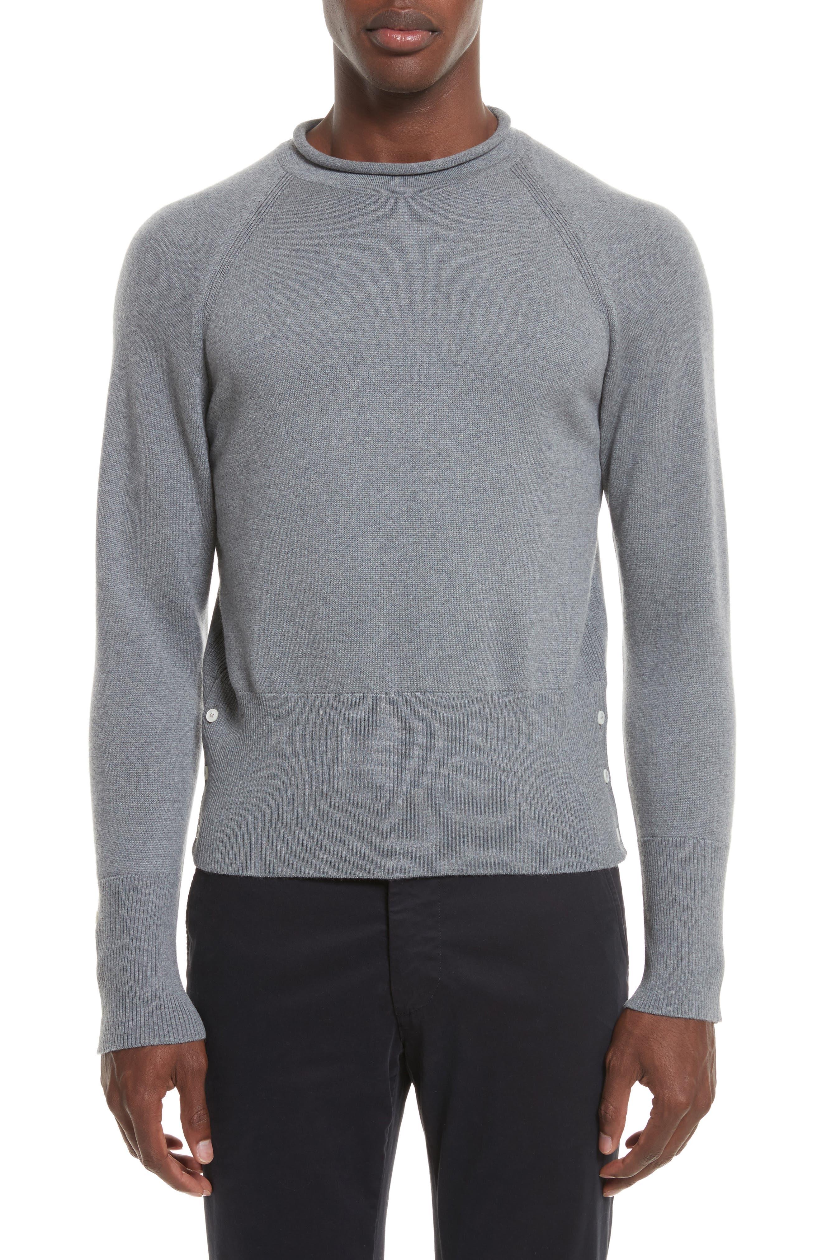 Thom Browne Raglan Merino Wool Sweater