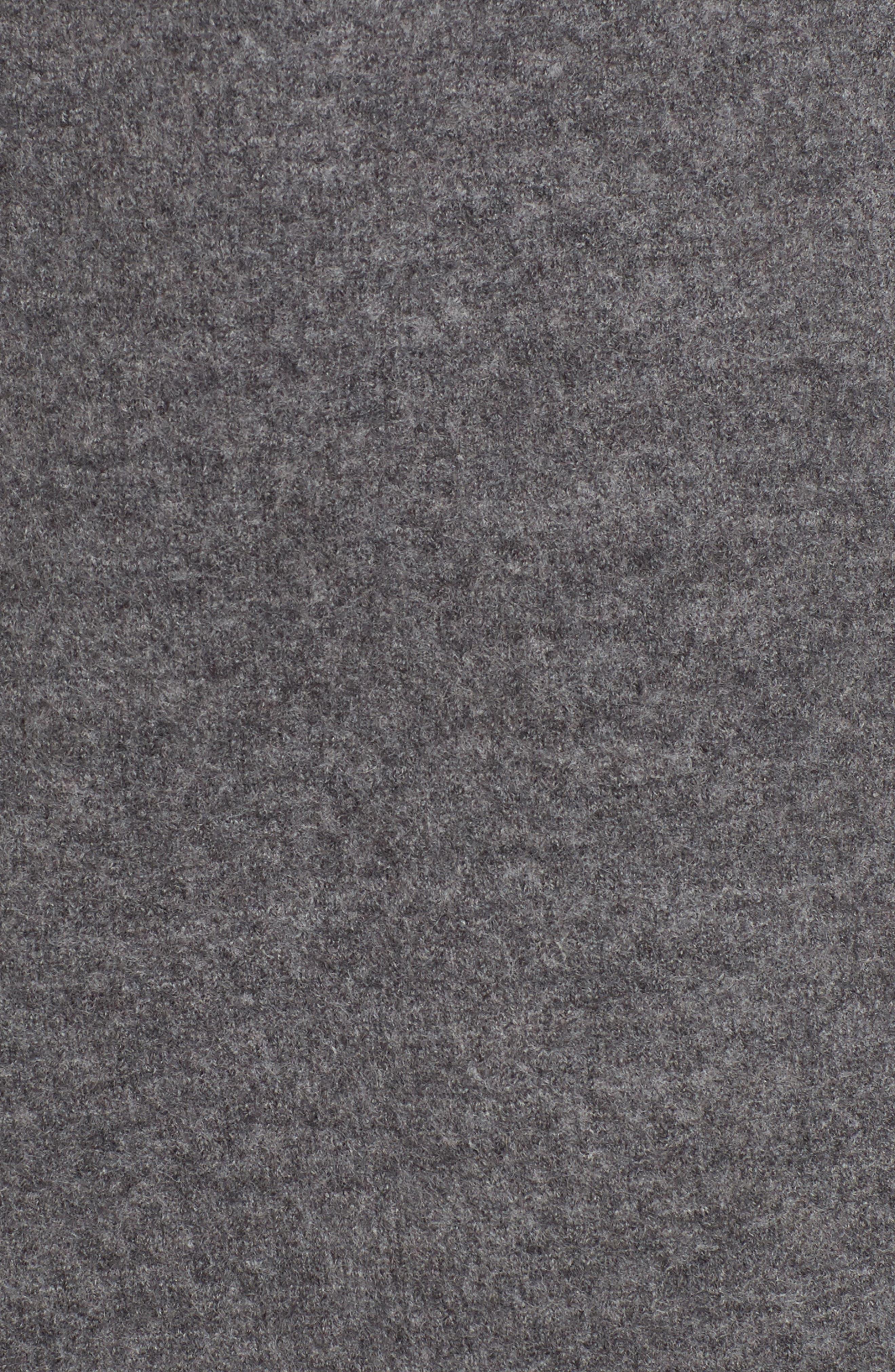 Alternate Image 5  - Eileen Fisher Long Boiled Wool Vest (Regular & Petite)