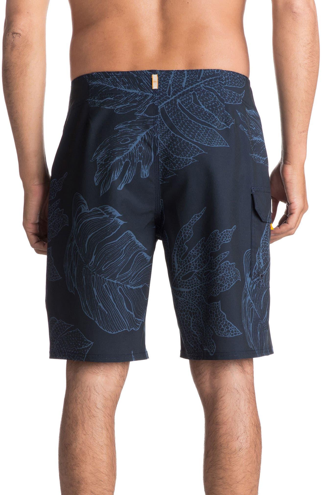 Xoa Board Shorts,                             Alternate thumbnail 2, color,                             Navy Blazer