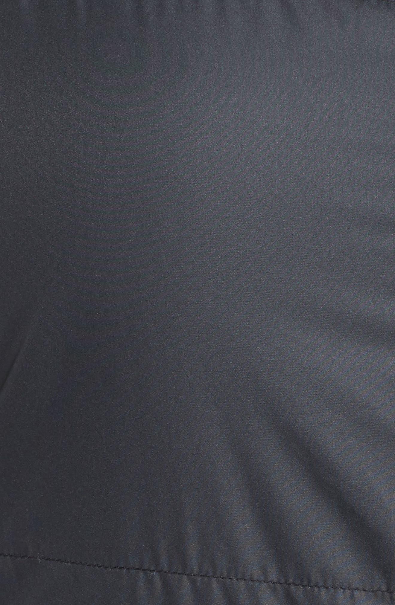 Shining Light II Quilted Vest,                             Alternate thumbnail 5, color,                             Black