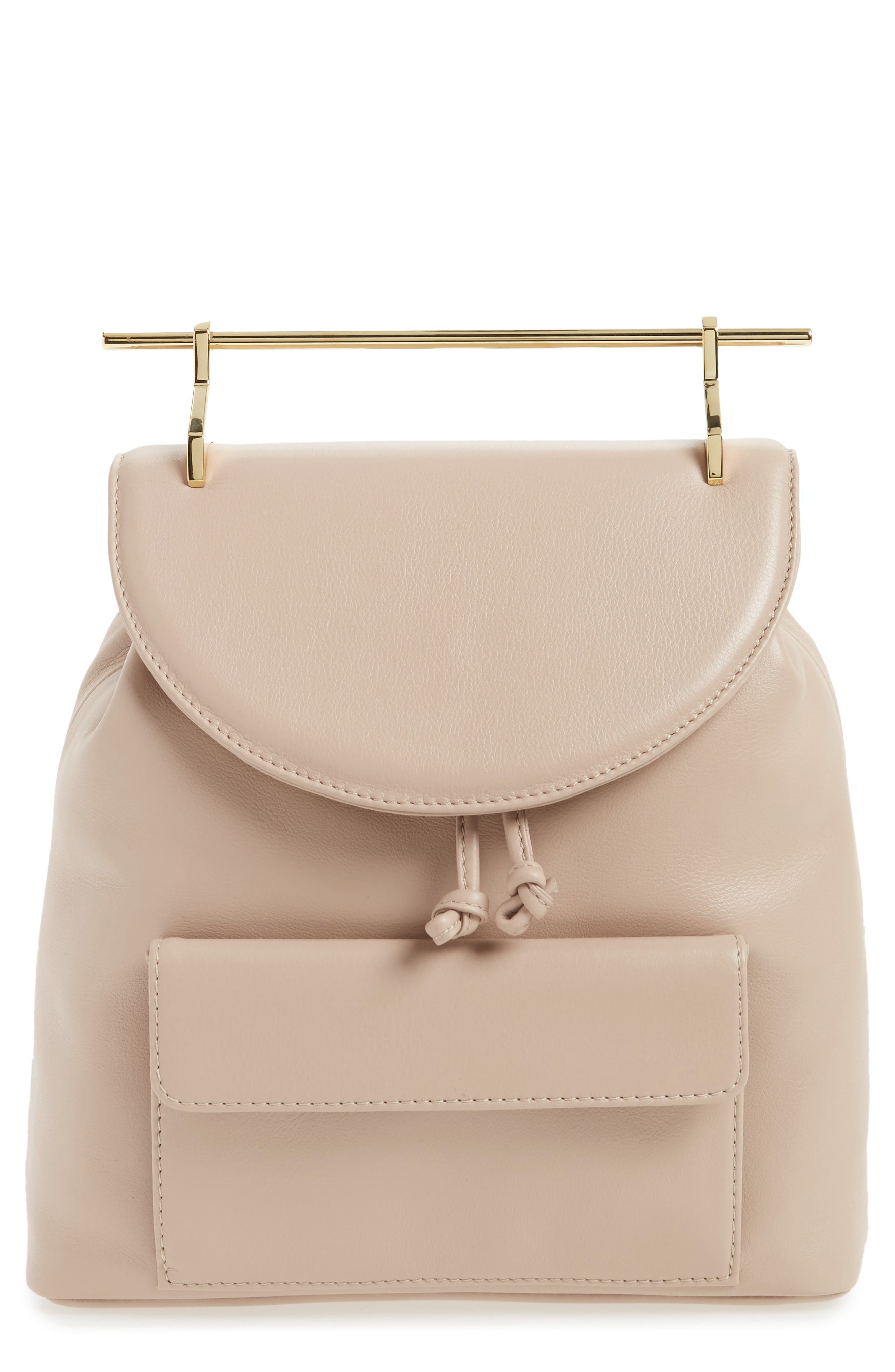 M2Malletier Calfskin Leather Backpack