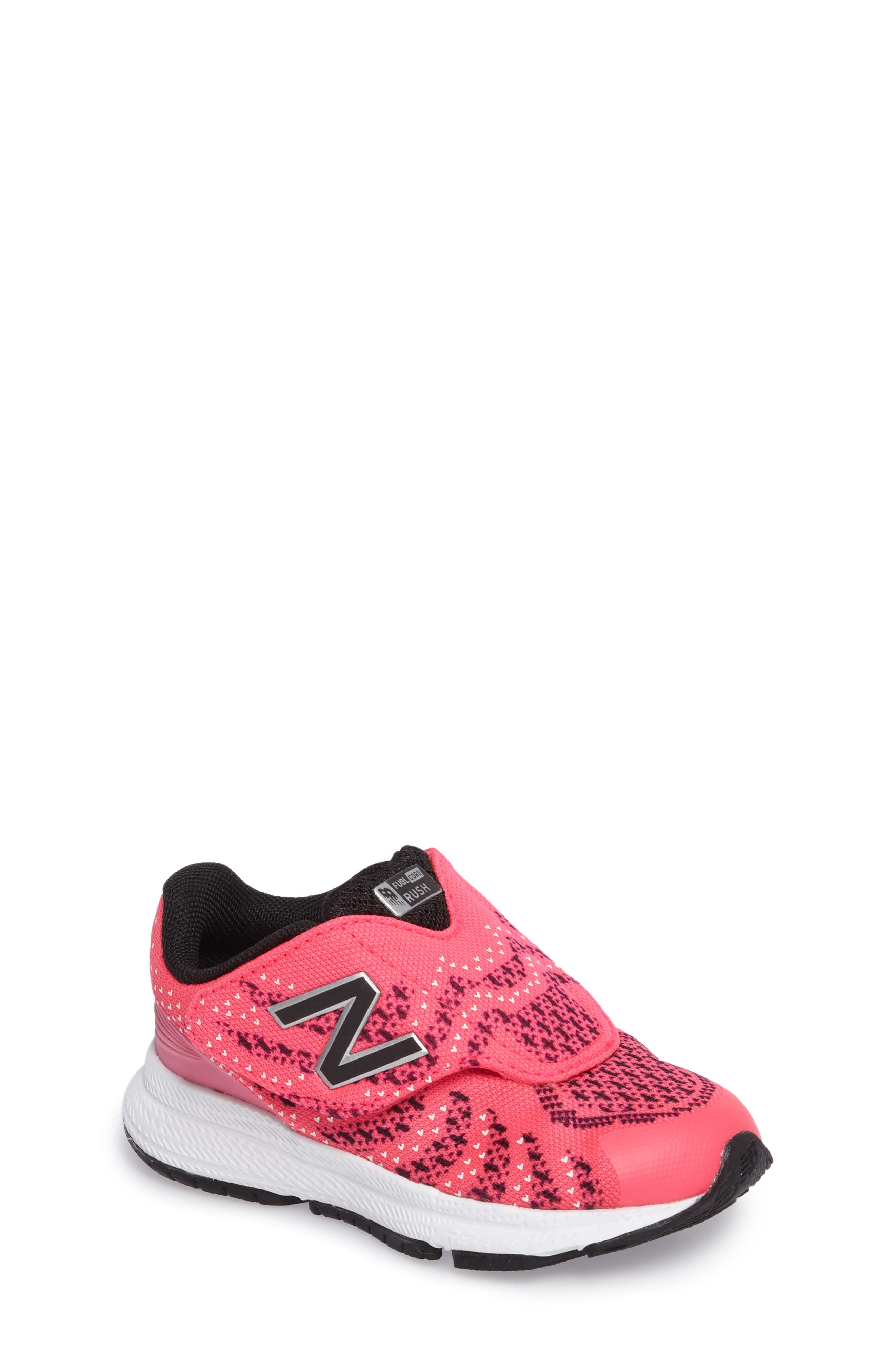 FuelCore Rush v3 Knit Sneaker,                             Main thumbnail 1, color,                             Pink