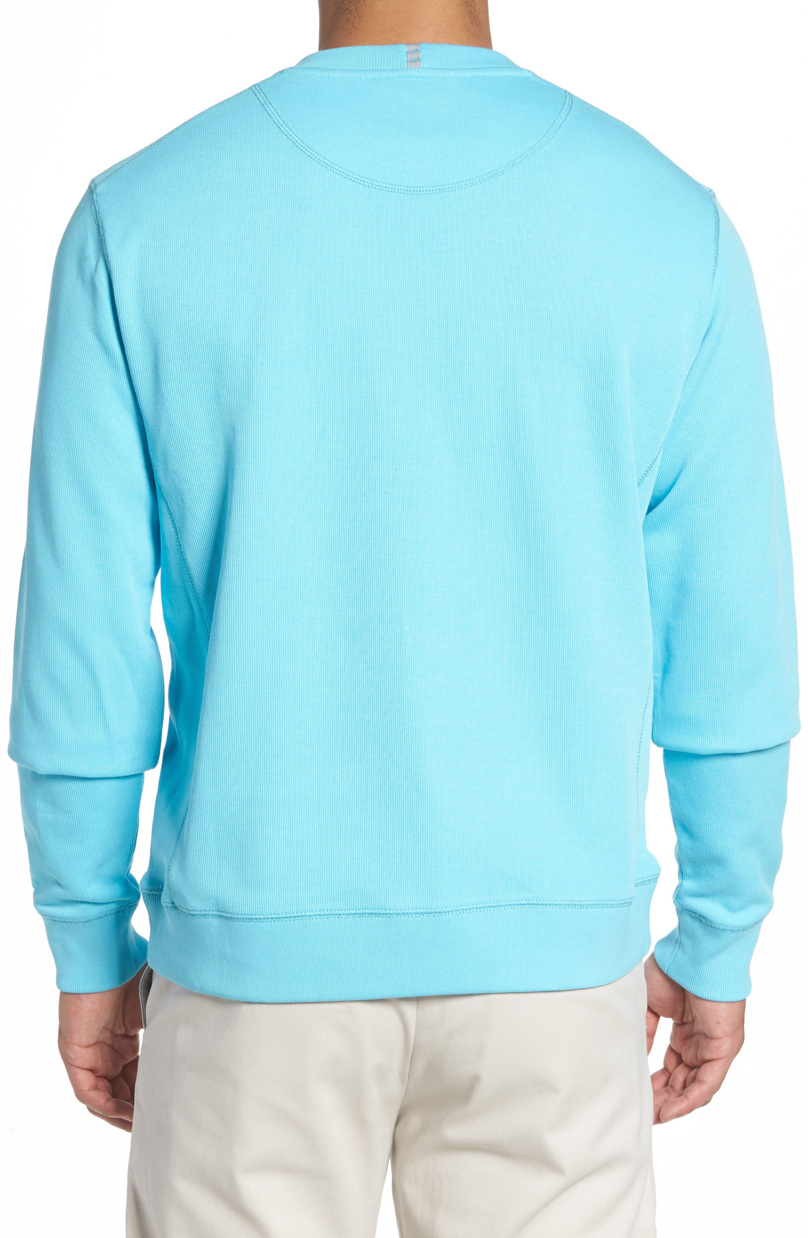 Alternate Image 2  - Cutter & Buck Bayview Crewneck Sweatshirt