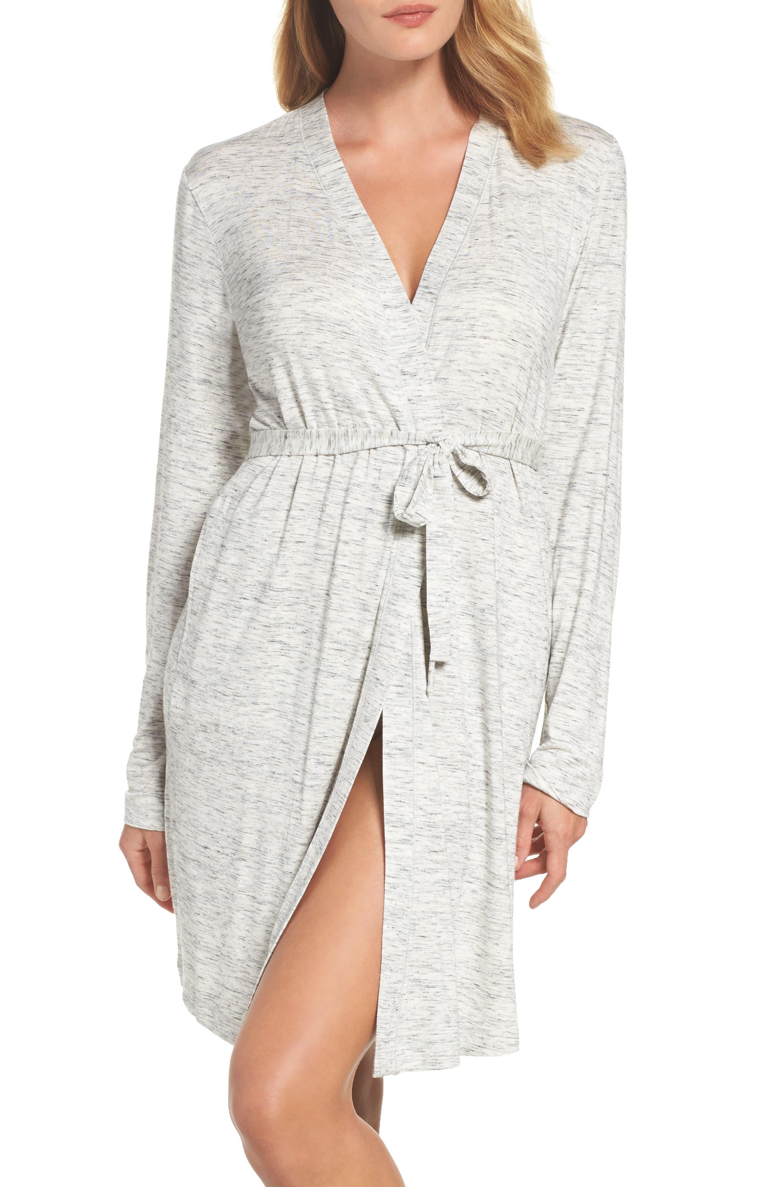DKNY 'City Essentials' Short Robe