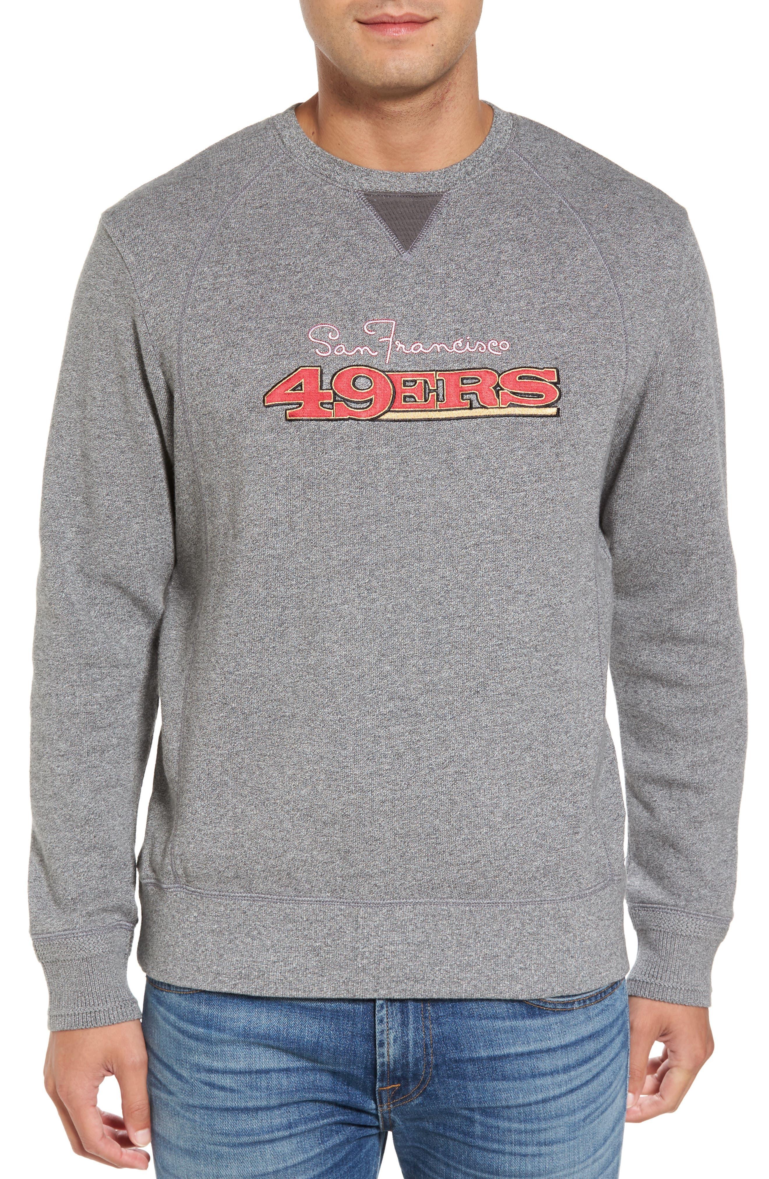 Tommy Bahama NFL Stitch of Liberty Embroidered Crewneck Sweatshirt