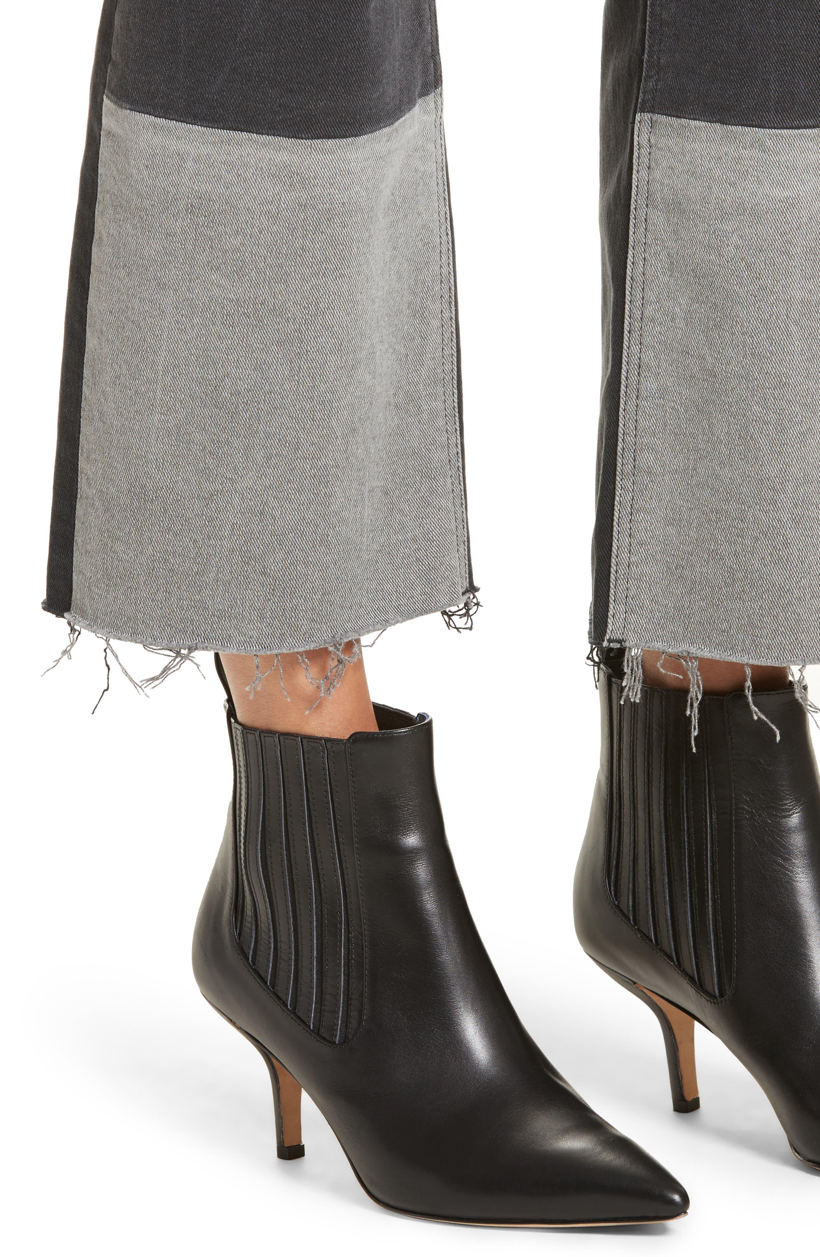 Alternate Image 5  - La Vie Rebecca Taylor Patch Jeans