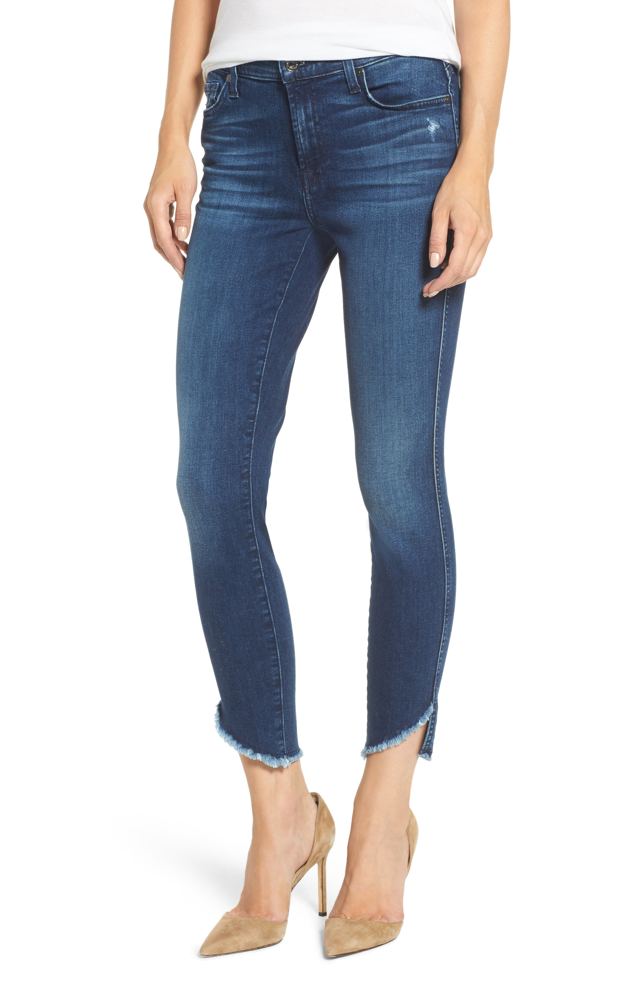 7 For All Mankind® The Ankle Skinny Jeans (5th Ave)