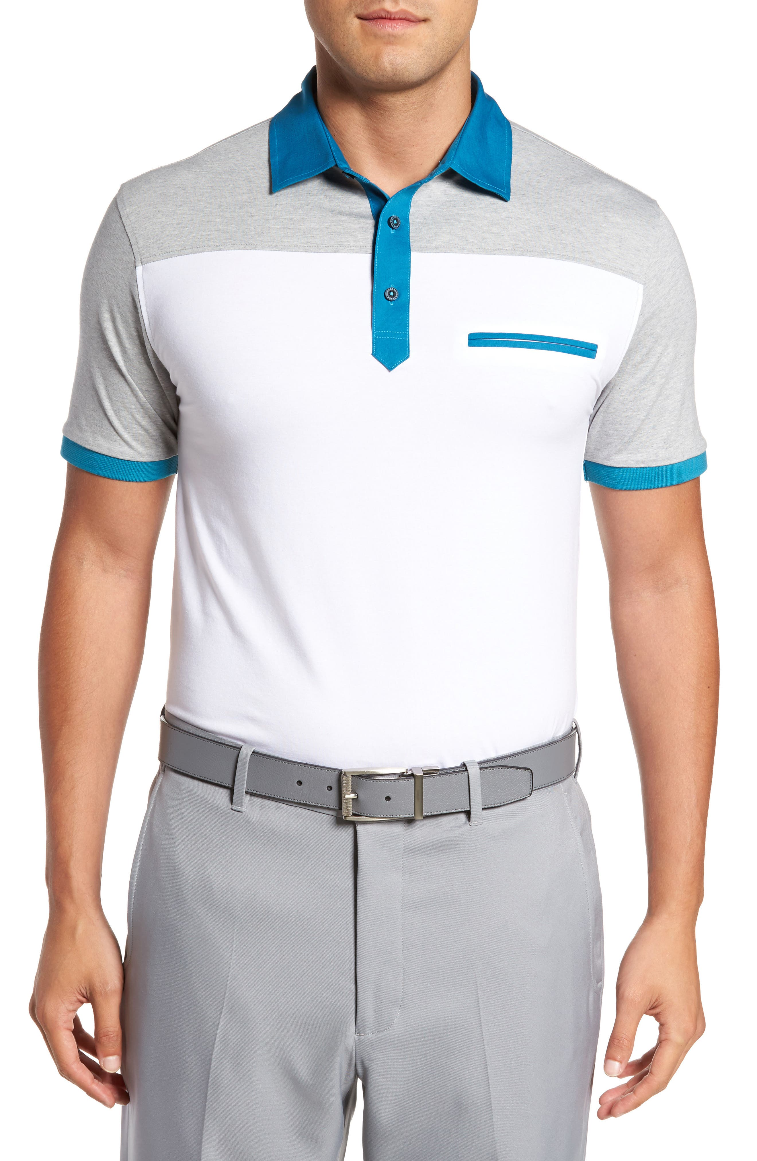 Bobby Jones R18 Rizzo Colorblock Polo