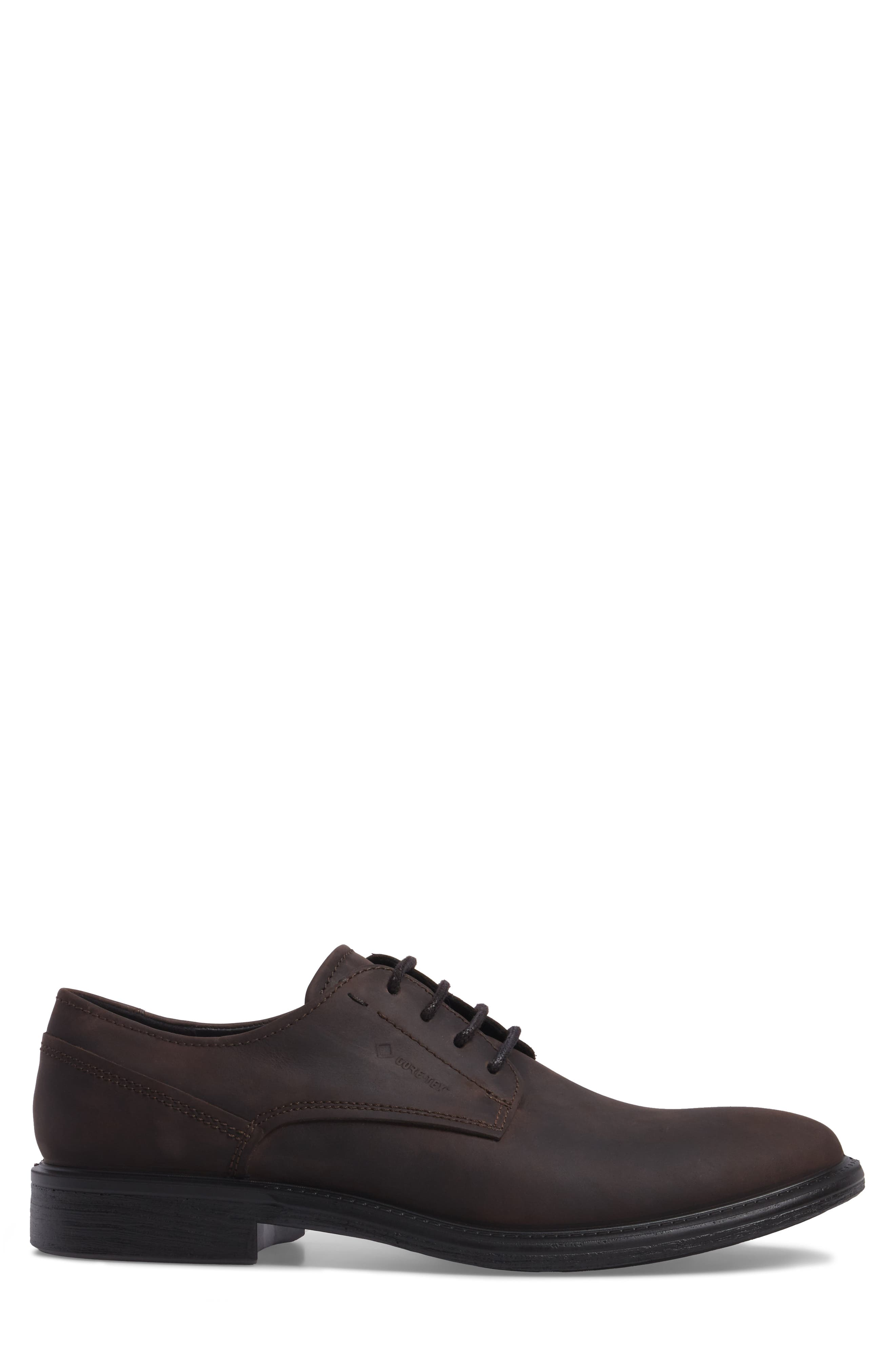 Alternate Image 3  - ECCO Knoxville Plain Toe Waterproof Gore-Tex® Derby (Men)