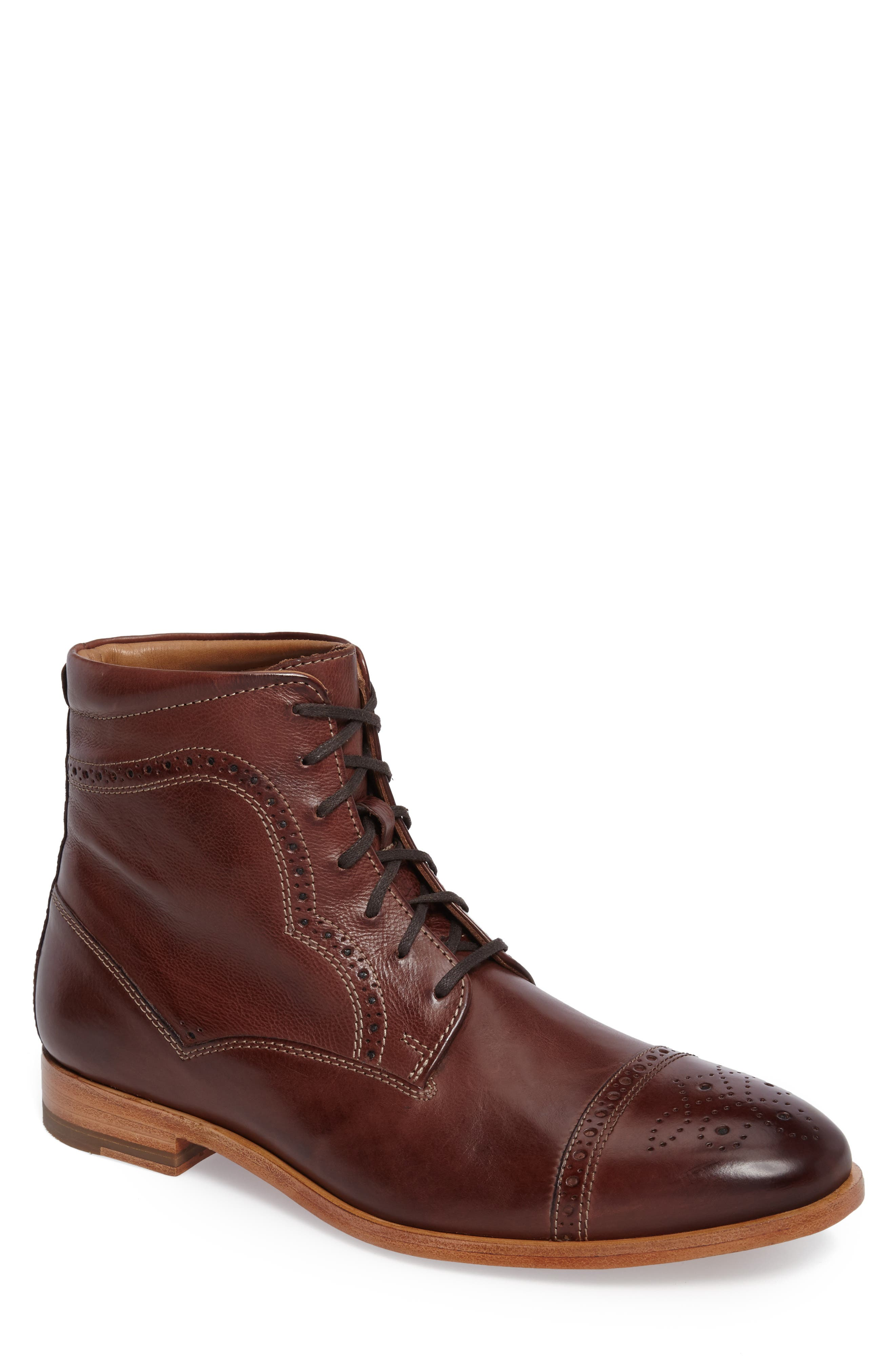 Johnston & Murphy Graham Cap Toe Boot (Men)