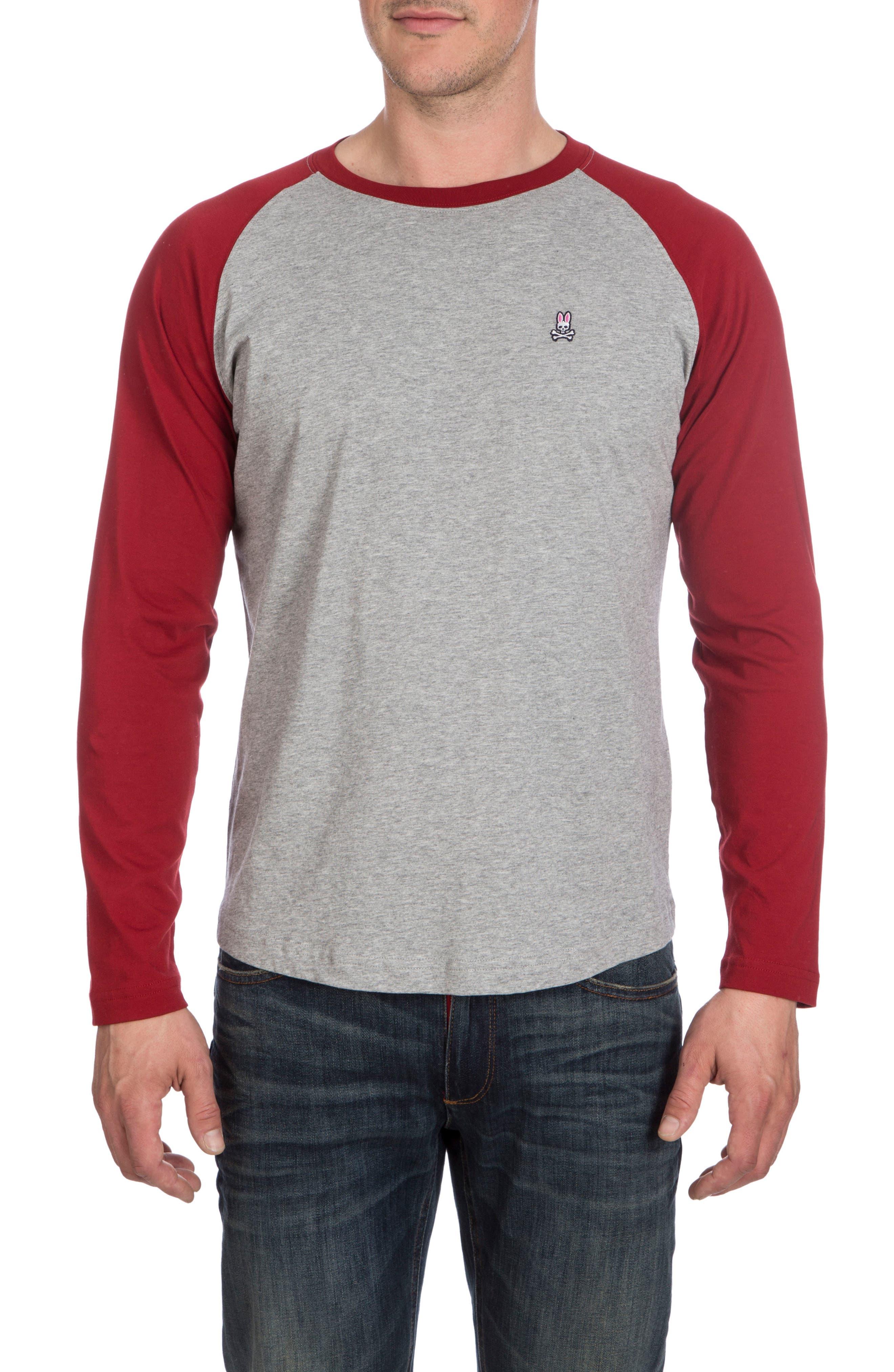 Cobb Raglan T-Shirt,                         Main,                         color, Dahlia