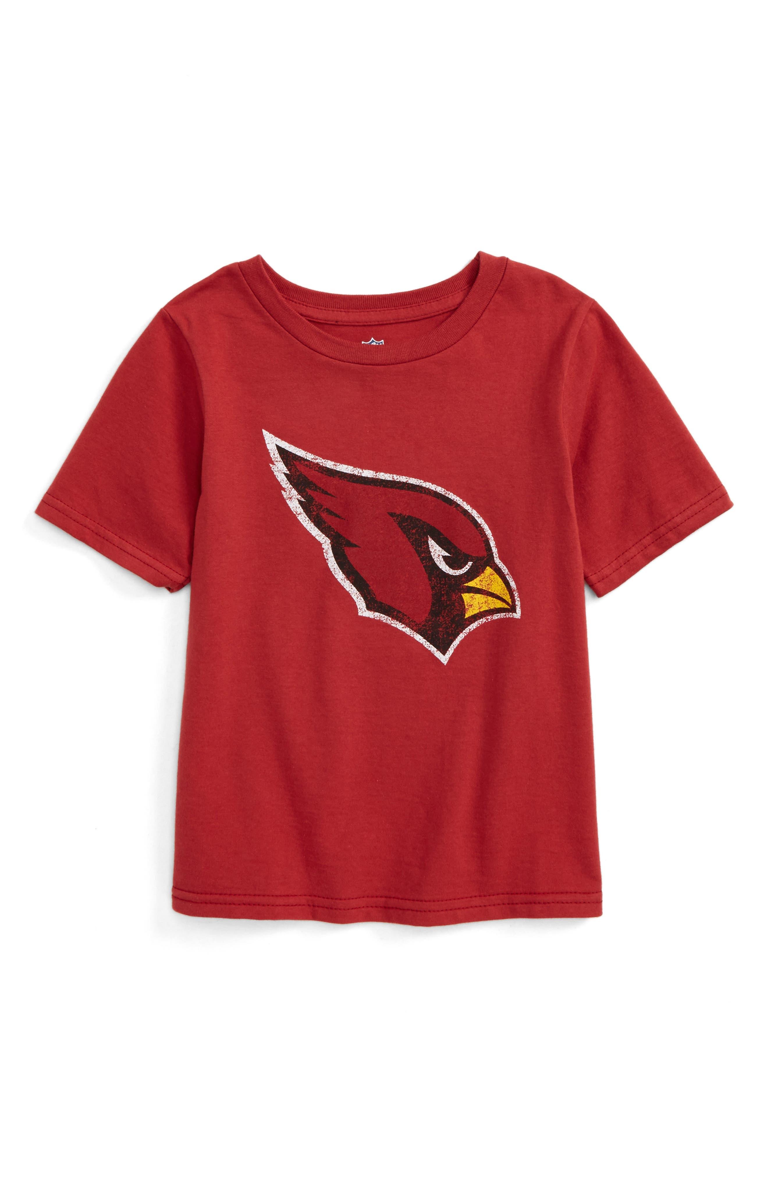 NFL - Arizona Cardinals Distressed Logo T-Shirt,                         Main,                         color, Cardinal