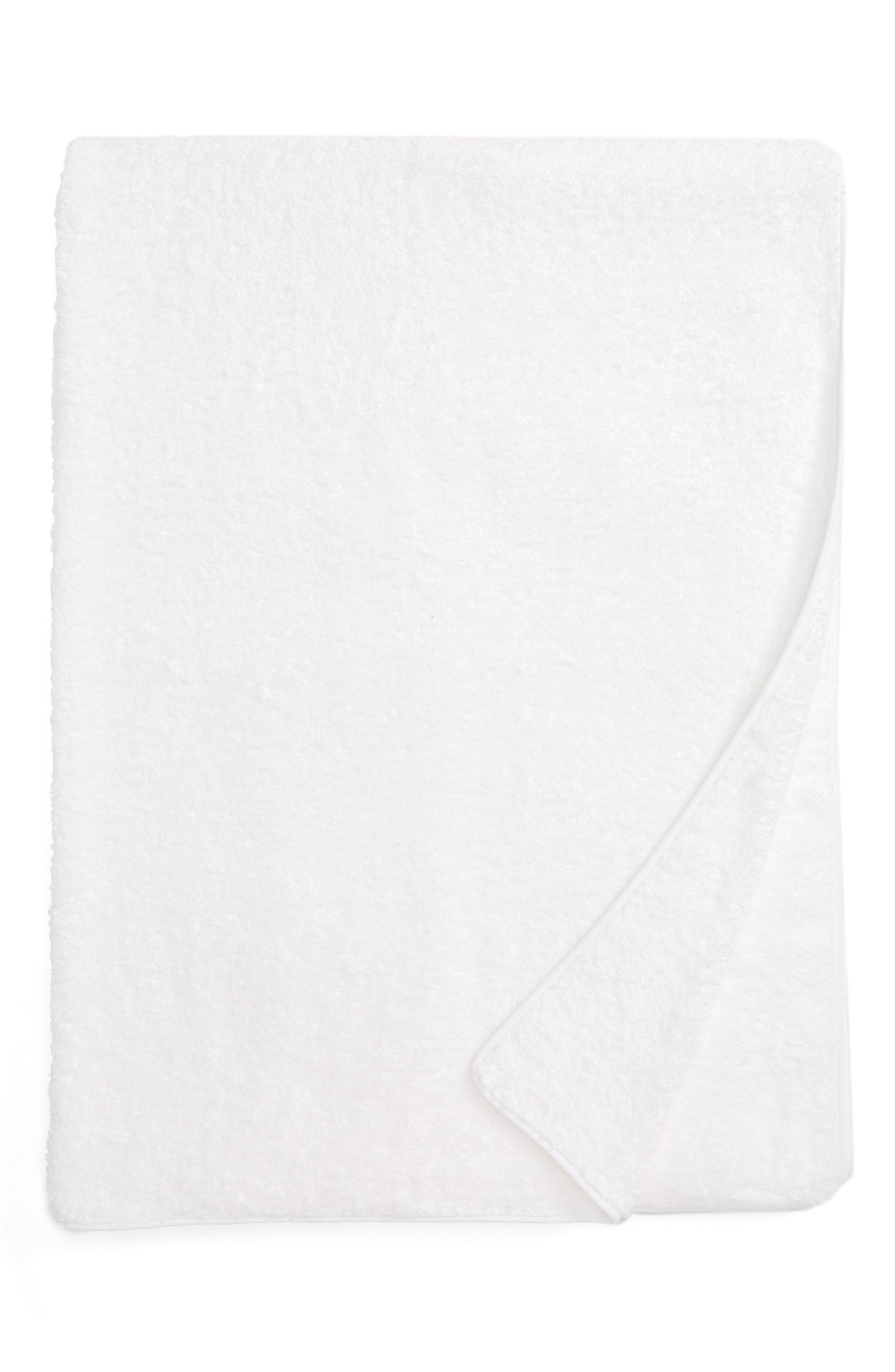 Cairo Bath Sheet,                             Main thumbnail 1, color,                             White