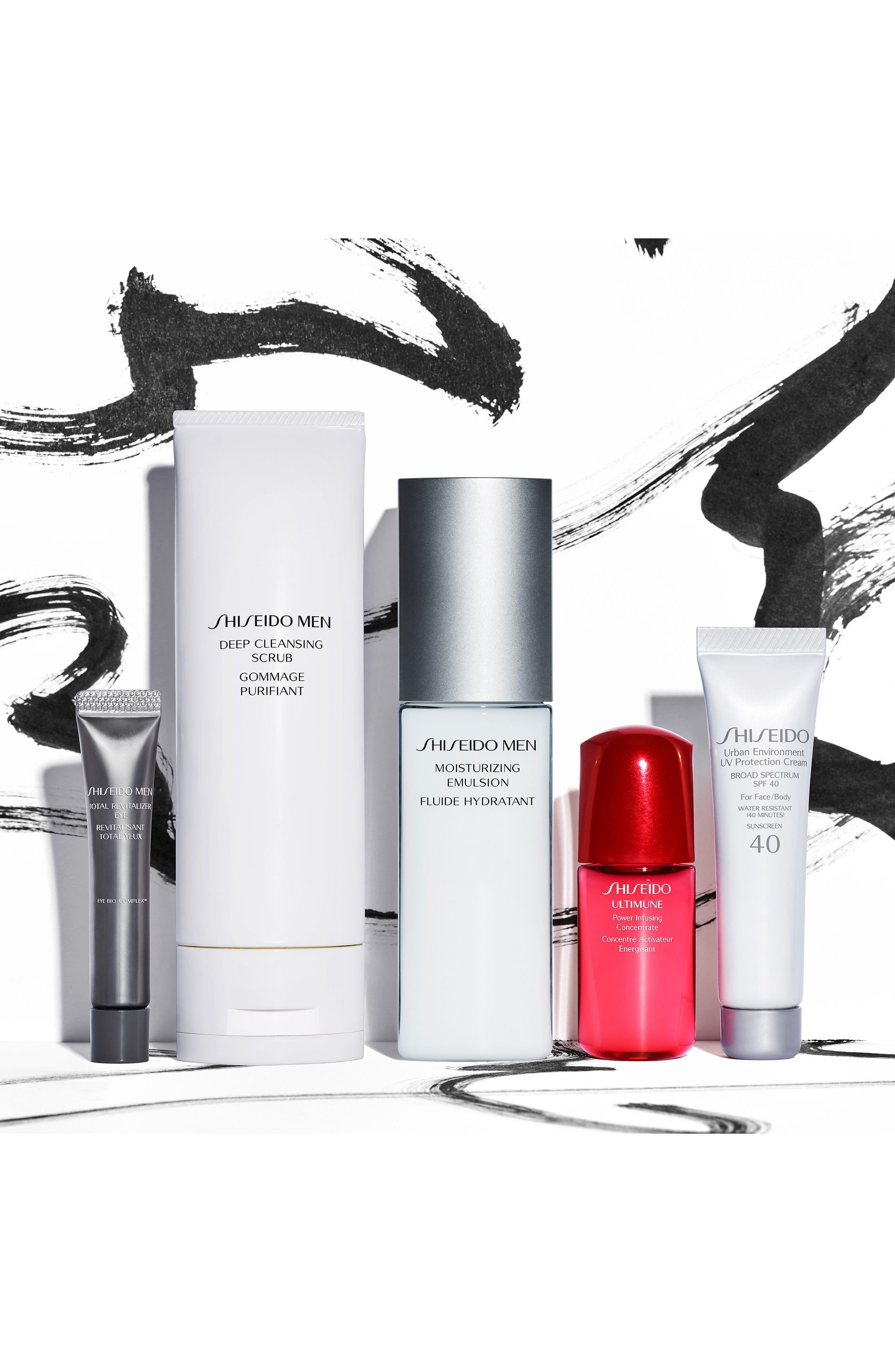 Alternate Image 4  - Shiseido Men's Essentials Collection ($108 Value)